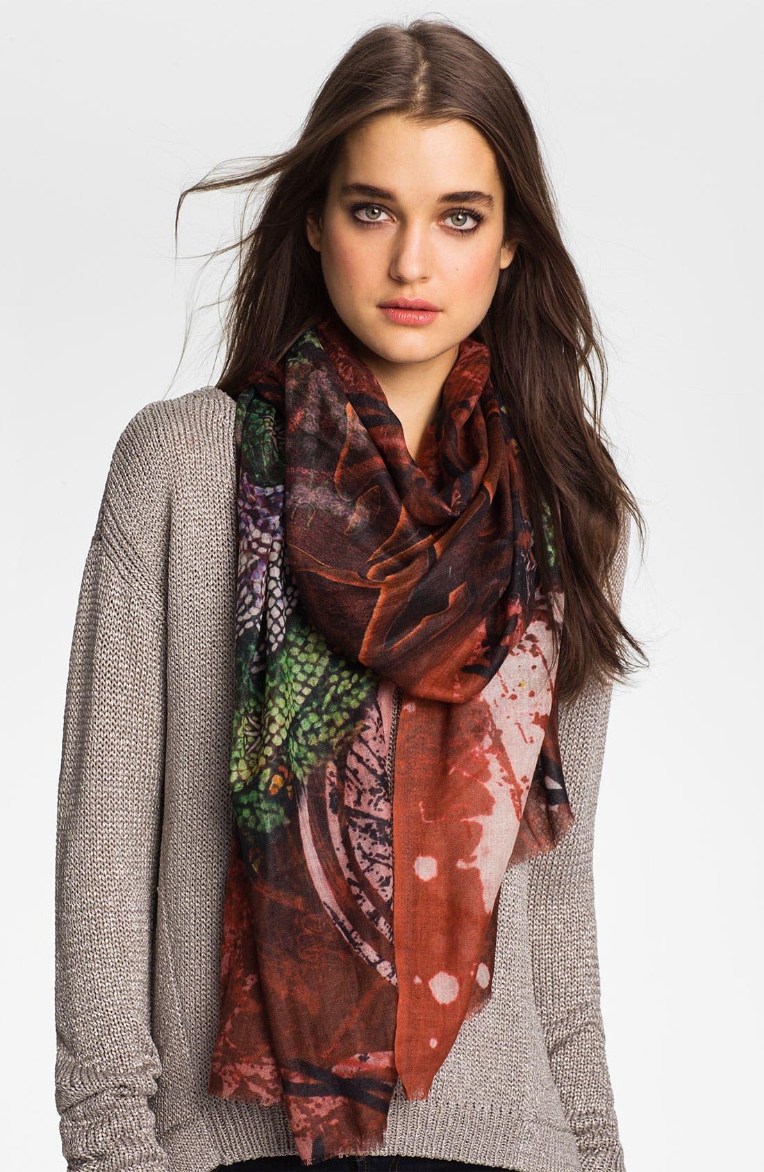 Main Image - Shawlux 'Capricorn' Cashmere & Silk Scarf