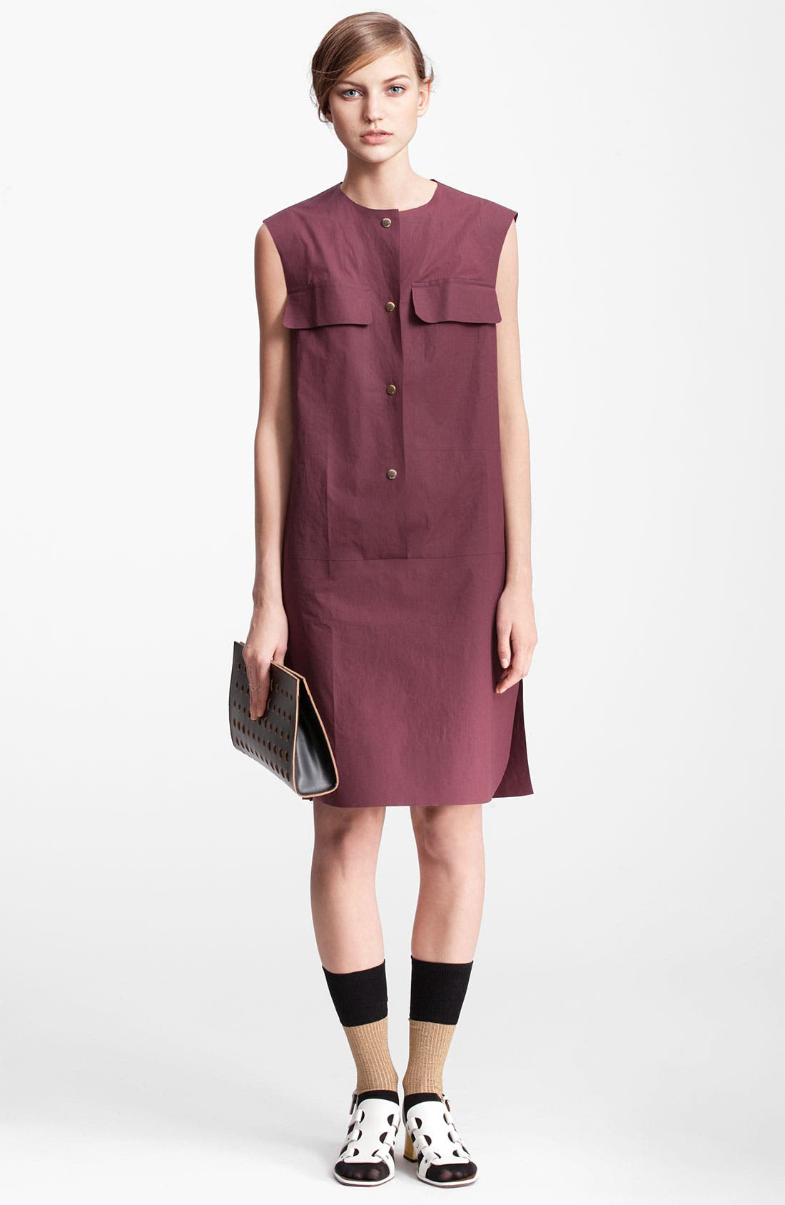 Alternate Image 3  - Marni Edition Sleeveless Poplin Dress