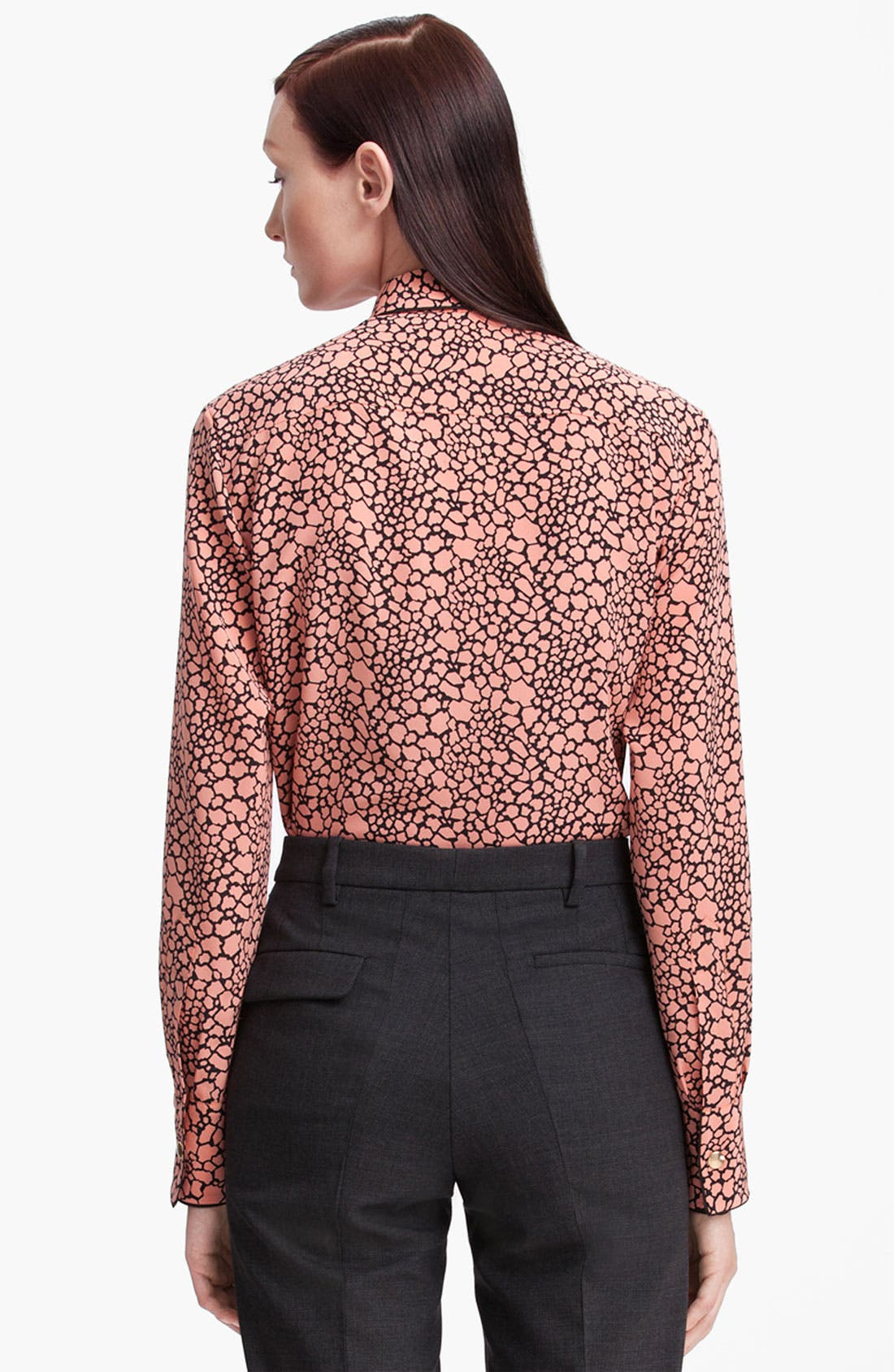 Alternate Image 2  - Marni Cellular Print Silk Blouse