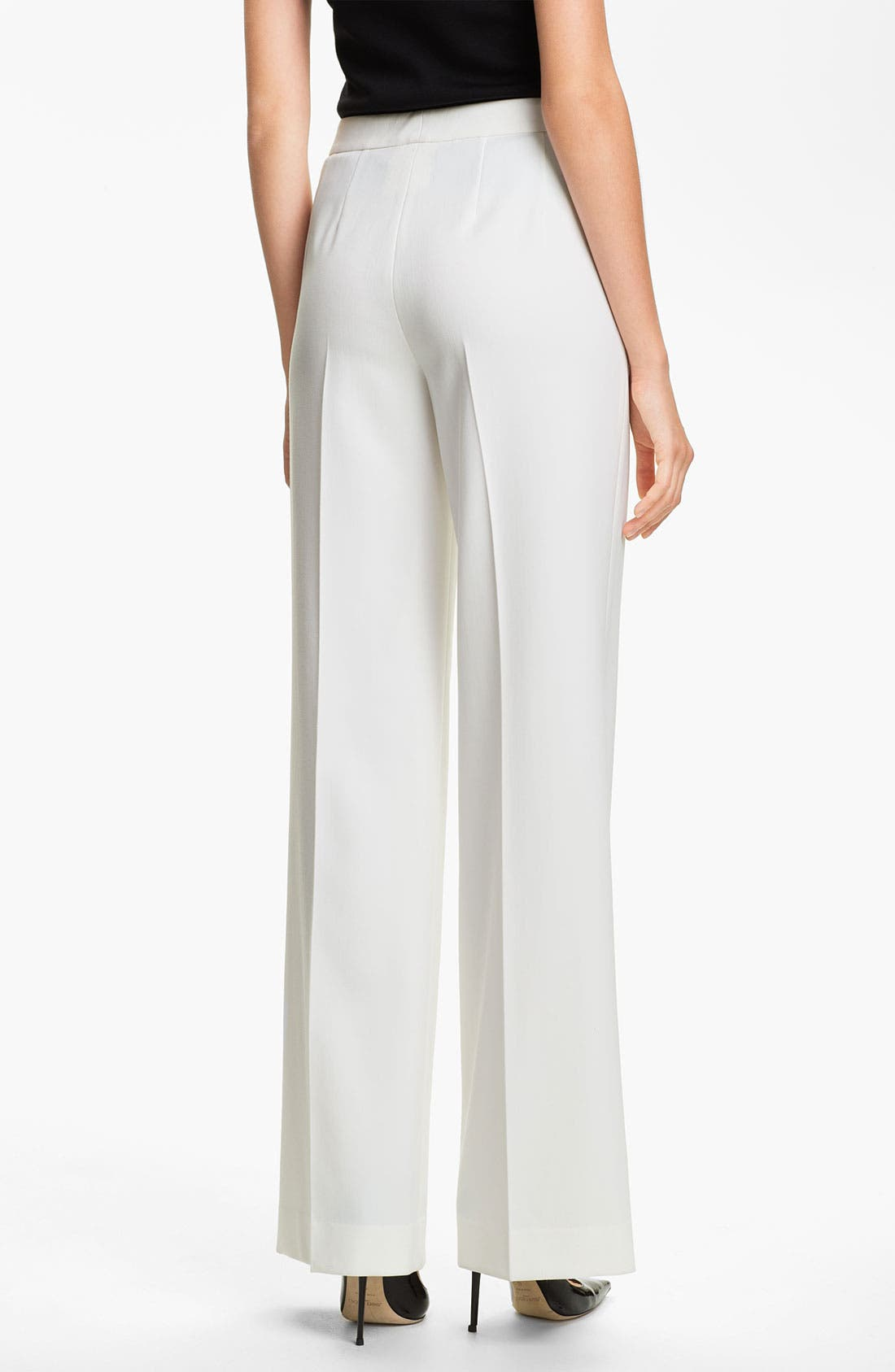 Alternate Image 2  - St. John Collection 'Diana' Stretch Woven Pants