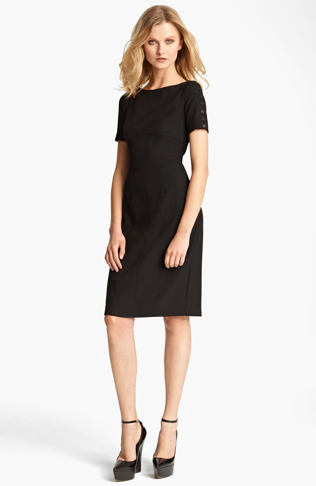 Main Image - Burberry London Crepe Dress