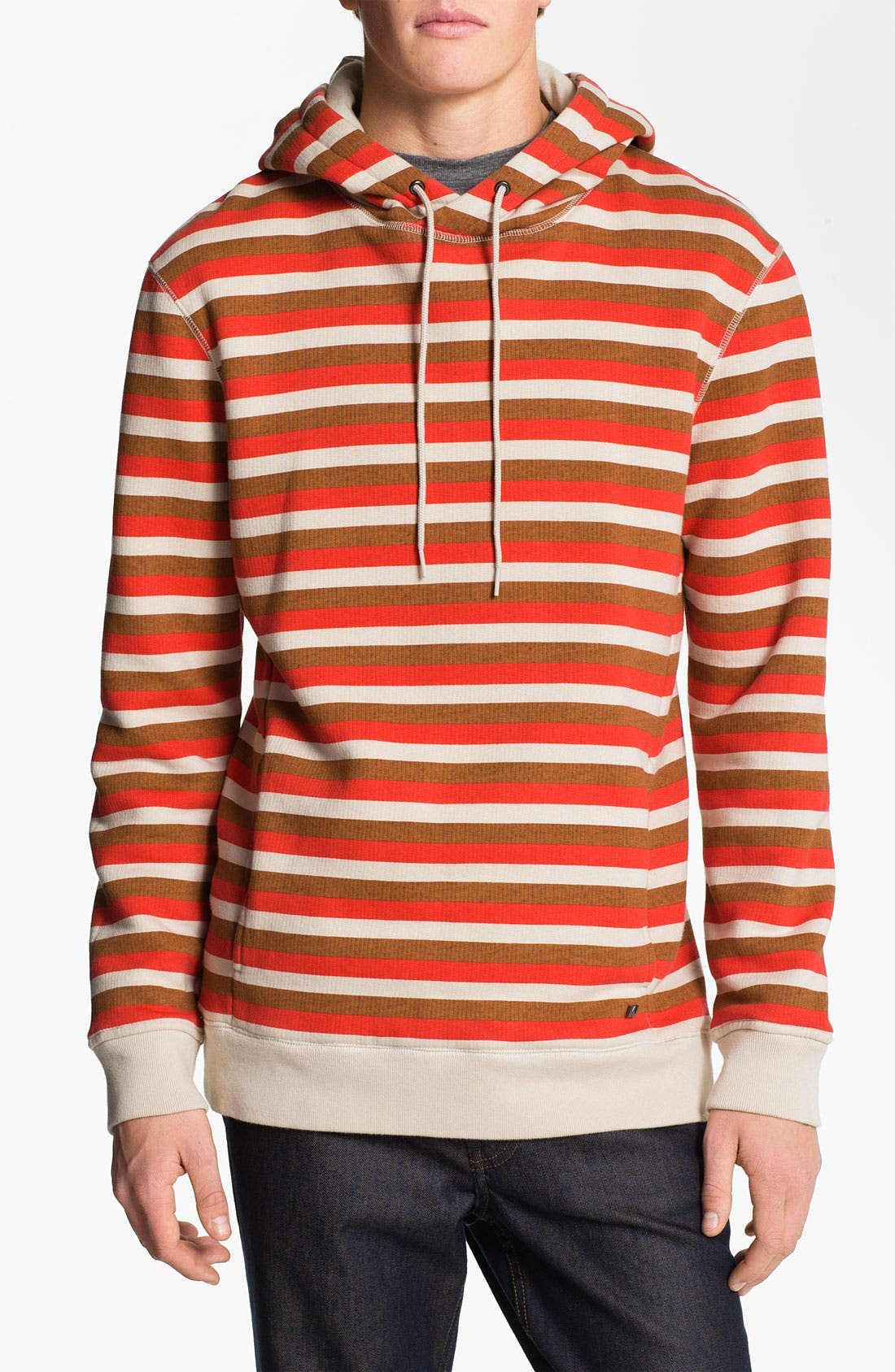 Alternate Image 1 Selected - MARC BY MARC JACOBS 'Elliott' Stripe Print Hoodie