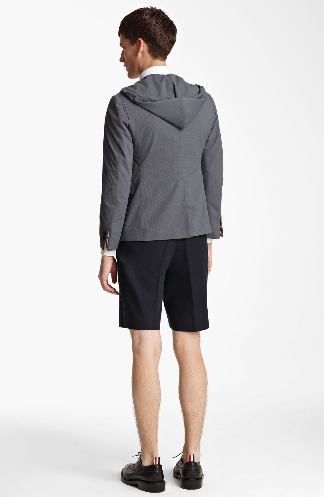 Alternate Image 5  - Thom Browne Water Resistant Hooded Jacket