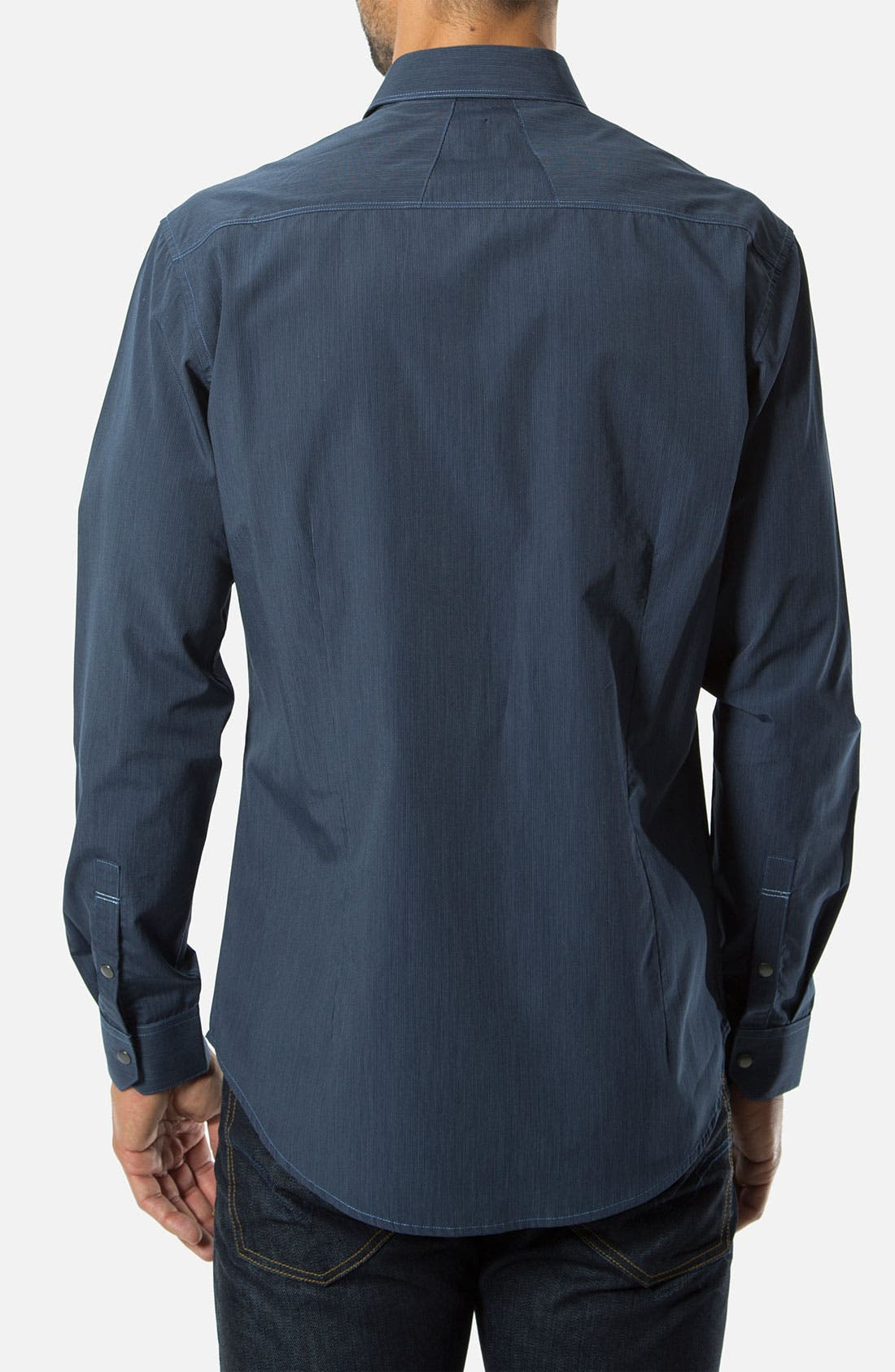 Alternate Image 2  - 7 Diamonds 'Chill Out' Woven Sport Shirt