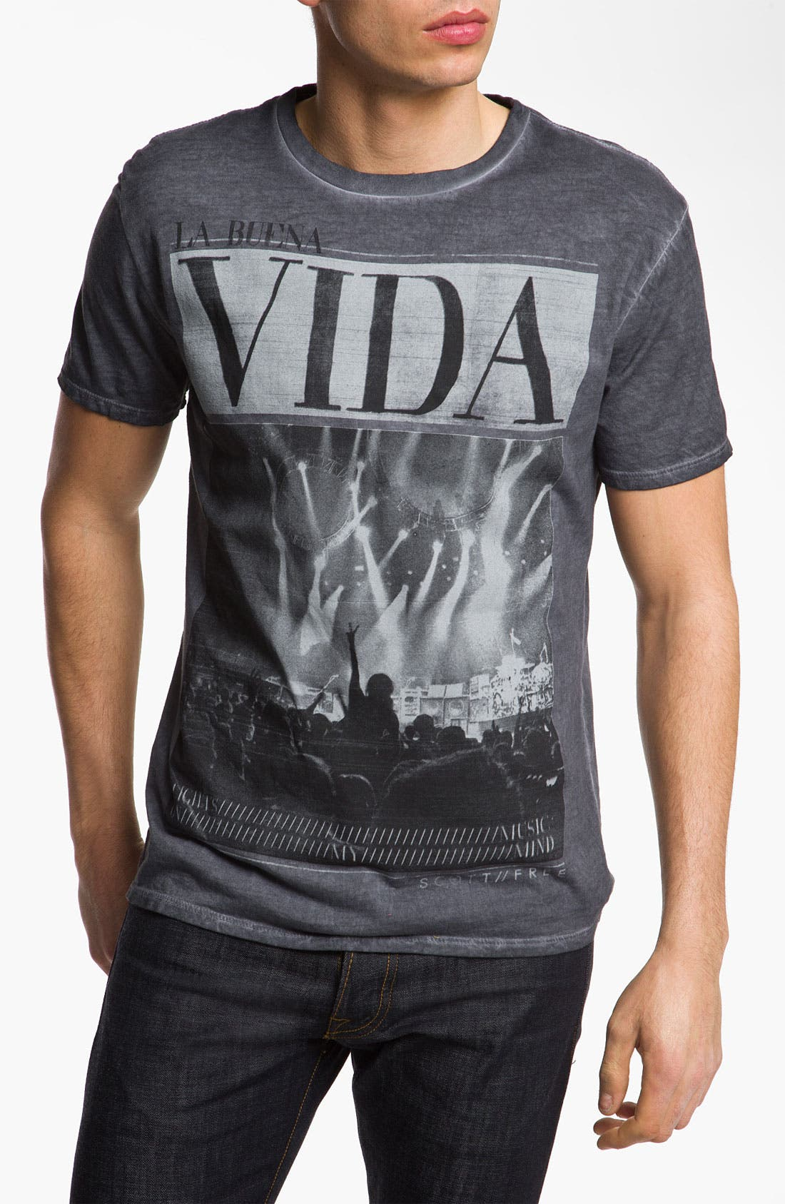 Alternate Image 1 Selected - Scott Free 'Vida' Graphic T-Shirt