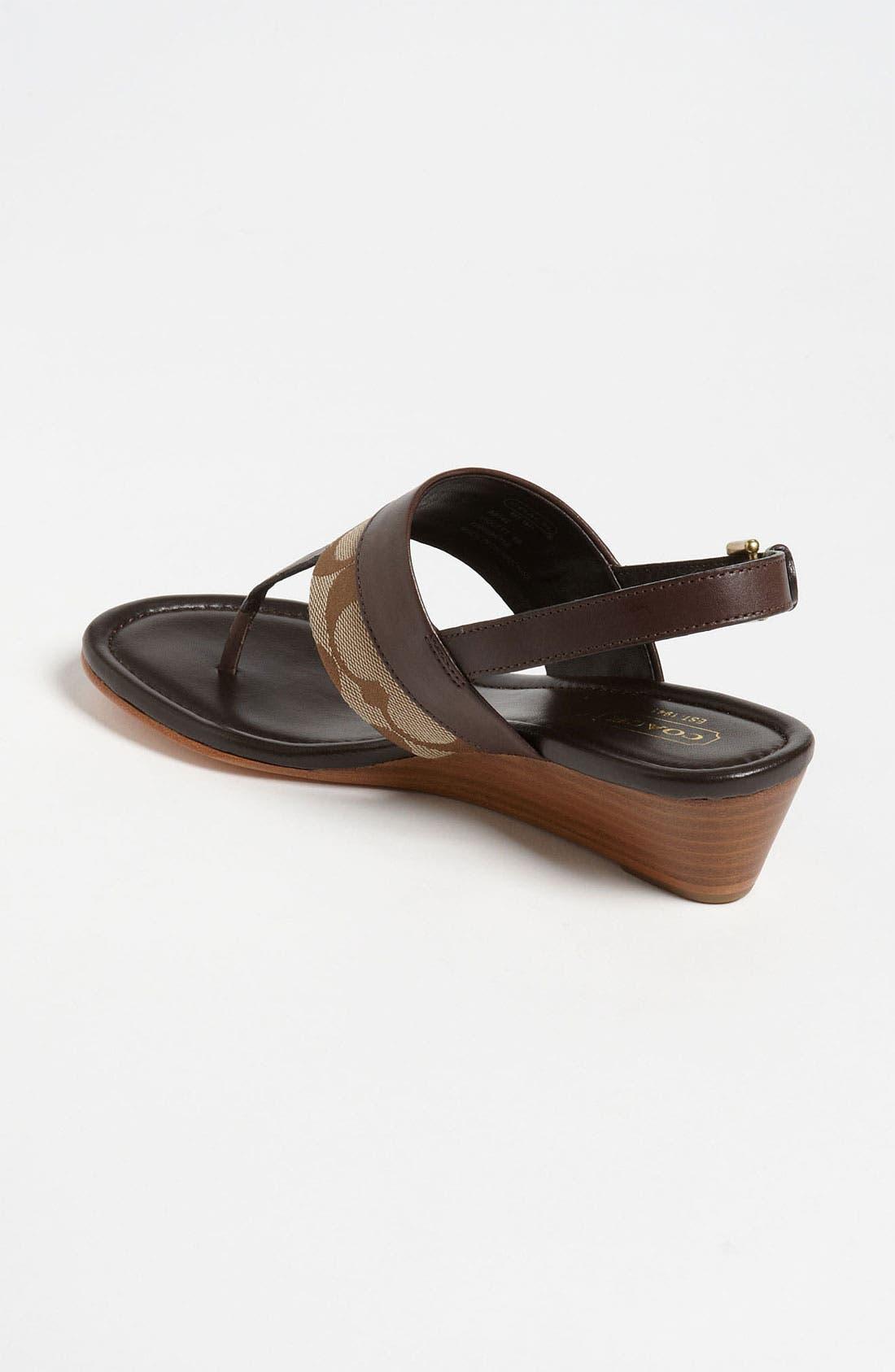 Alternate Image 2  - COACH 'Violett' Sandal