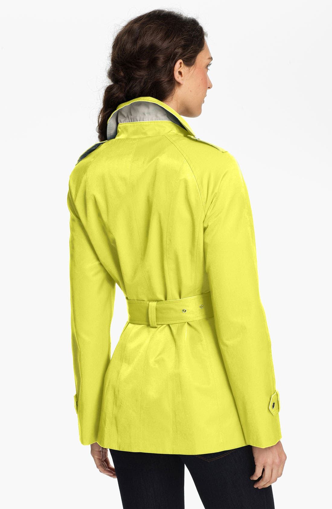 Alternate Image 2  - Gallery Two Tone Asymmetrical Coat (Online Only)