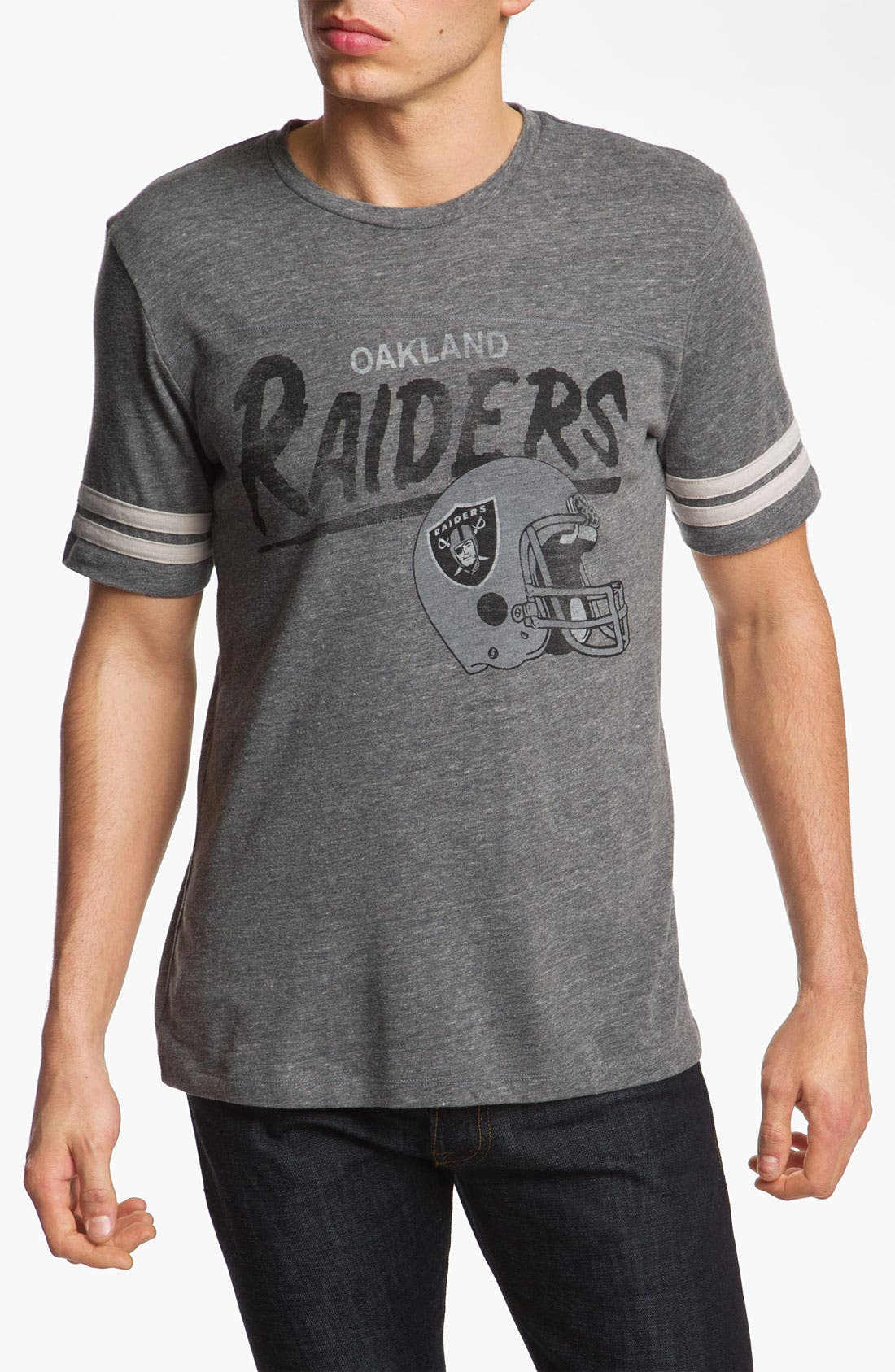 Alternate Image 1 Selected - Junk Food 'Oakland Raiders' T-Shirt