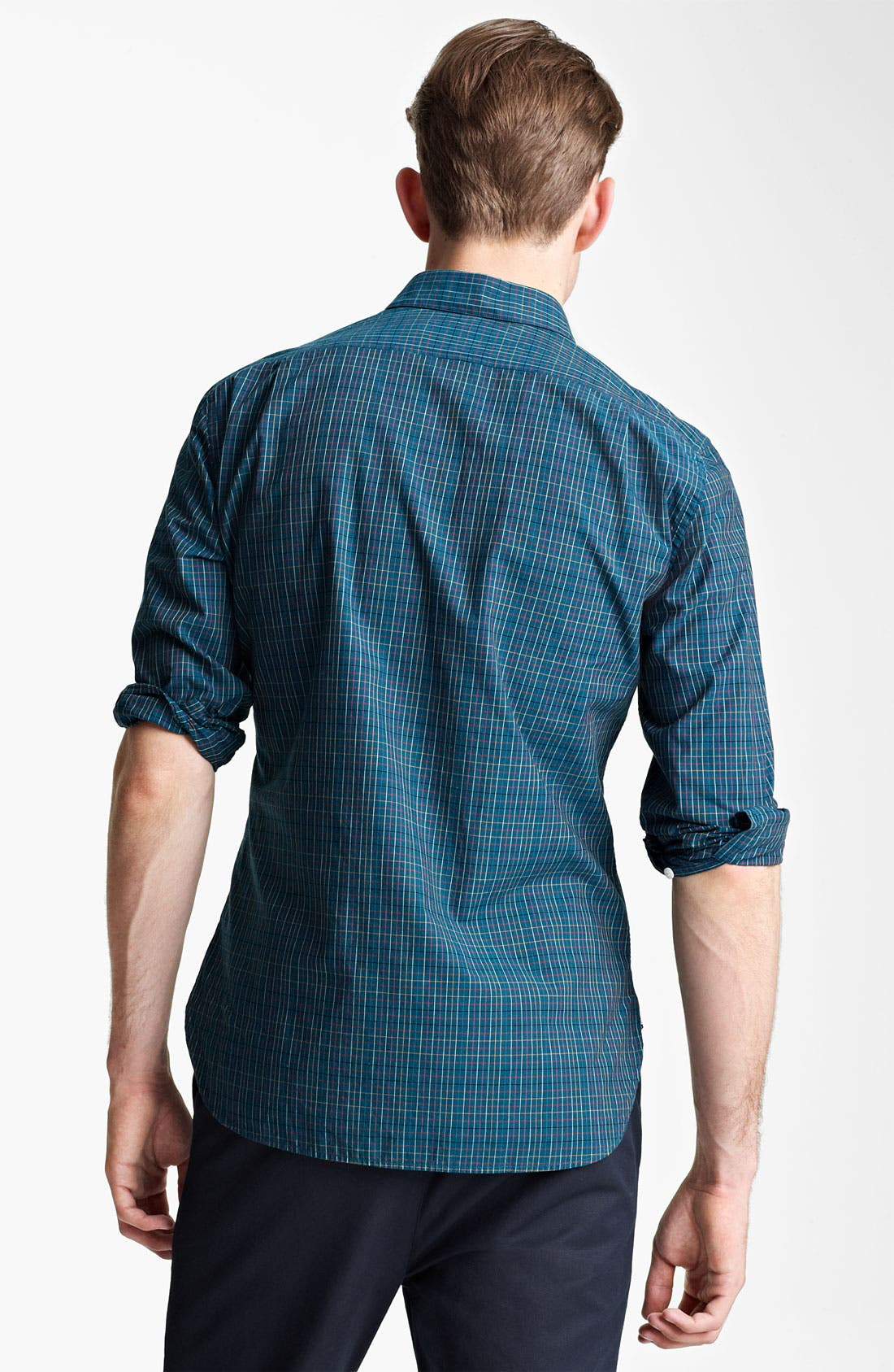 Alternate Image 2  - Shipley & Halmos Plaid Woven Shirt
