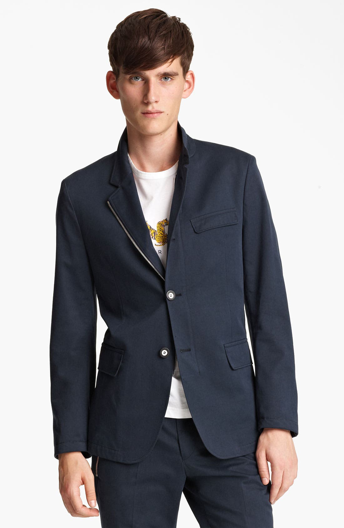 Alternate Image 1 Selected - KENZO Two Button Sportcoat