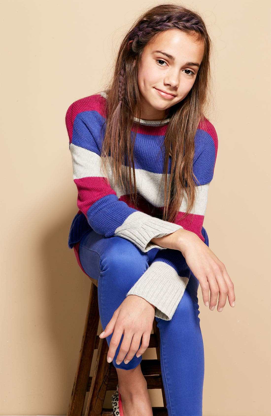 Alternate Image 2  - Tucker + Tate 'Lydia' Sweater (Big Girls)