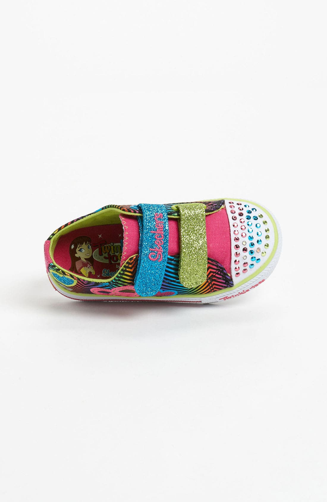 Alternate Image 3  - SKECHERS 'Shuffles - Baby Luv' Light Up Sneaker (Walker & Toddler)