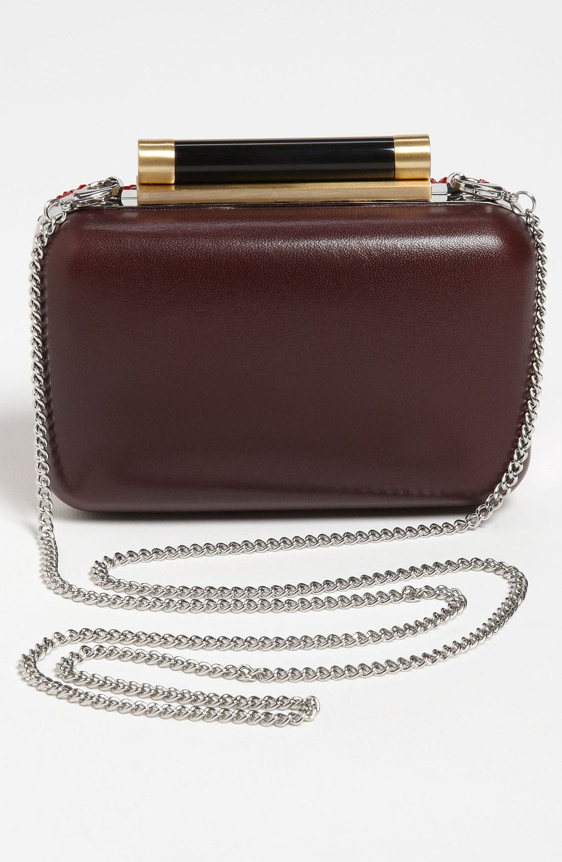Alternate Image 4  - Diane von Furstenberg 'Tonda - Small' Crystal & Leather Clutch