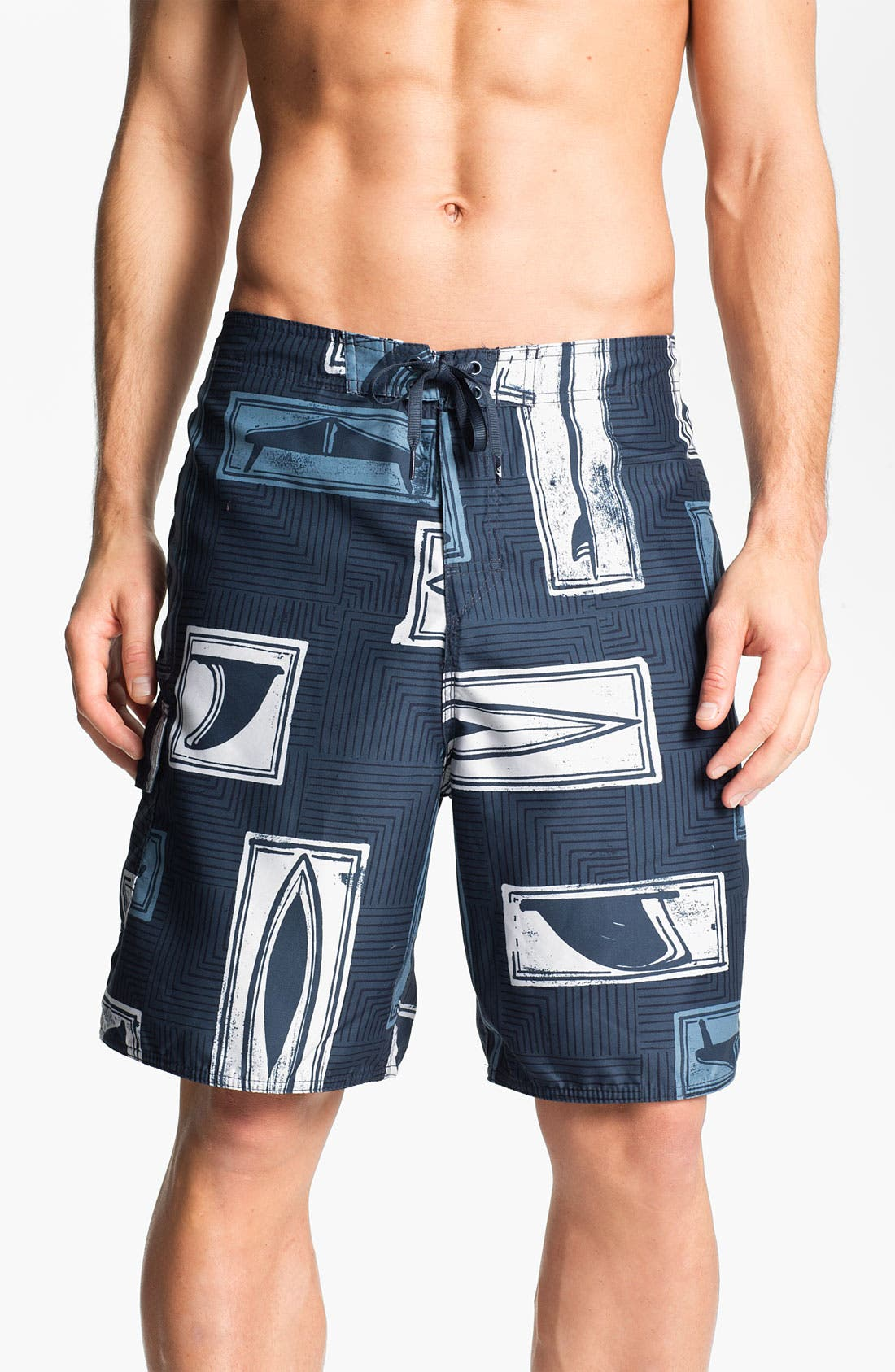 Alternate Image 1 Selected - Quiksilver 'Boardroom' Hybrid Swim Shorts