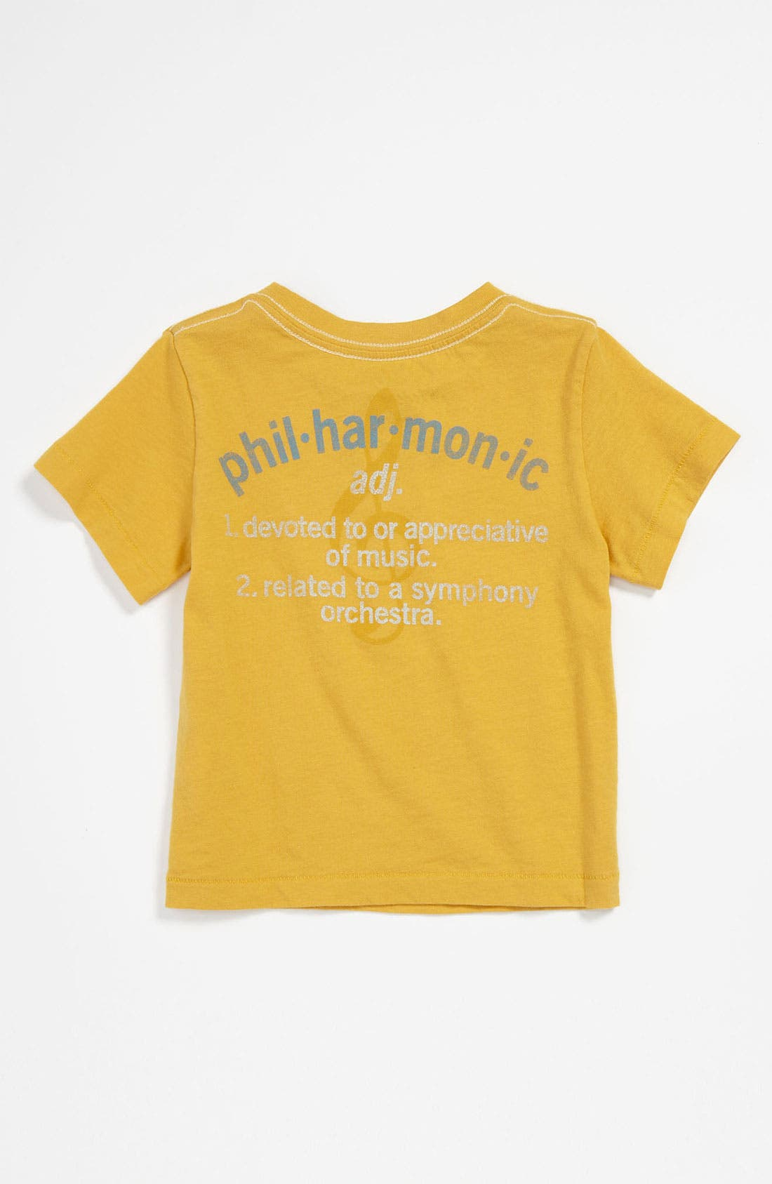 Alternate Image 2  - Peek 'Philharmonic' T-Shirt (Infant)