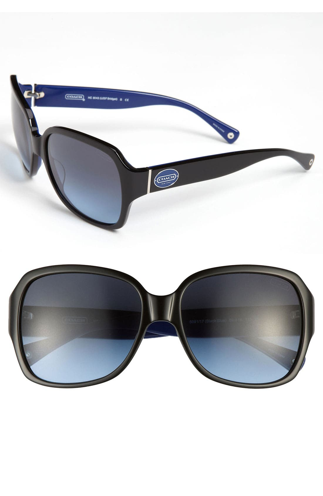 Main Image - COACH 59mm Oversized Sunglasses