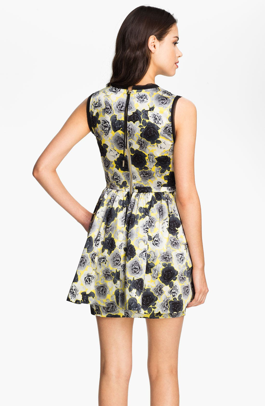 Alternate Image 2  - Juicy Couture Floral Frilly Dress