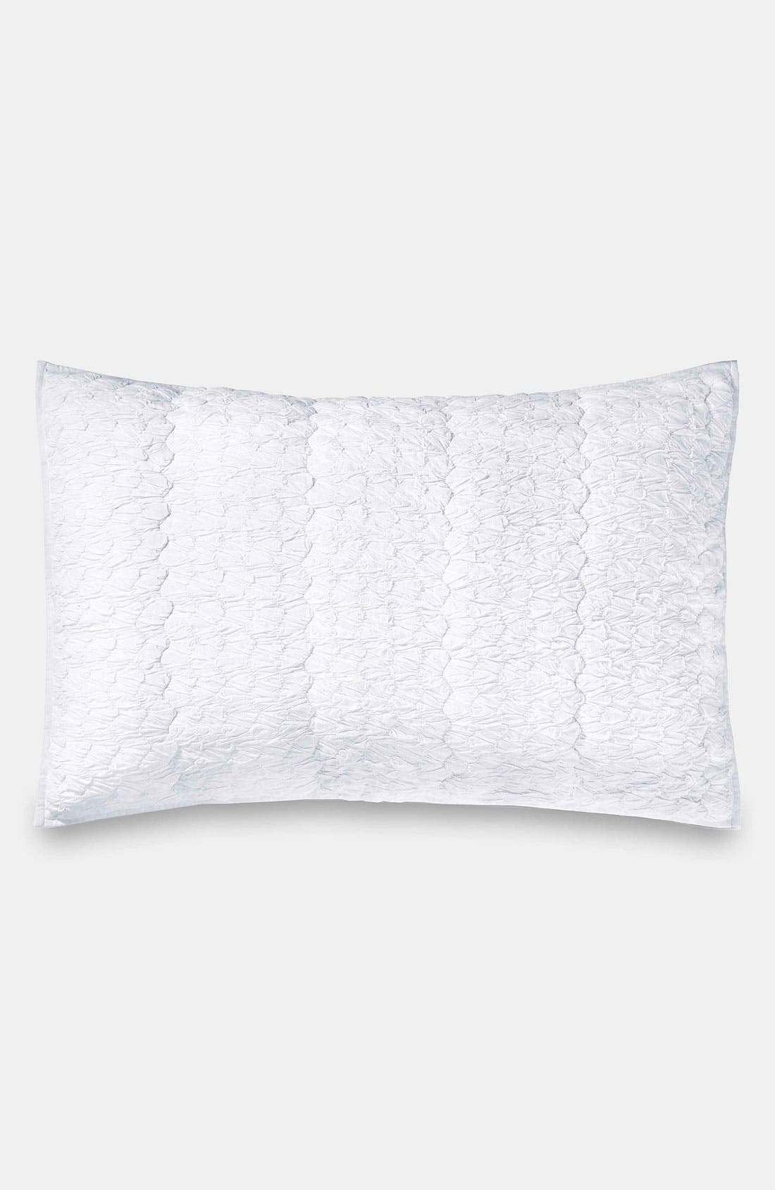 'Pure Enchantment' Pillow Sham,                         Main,                         color, Milk