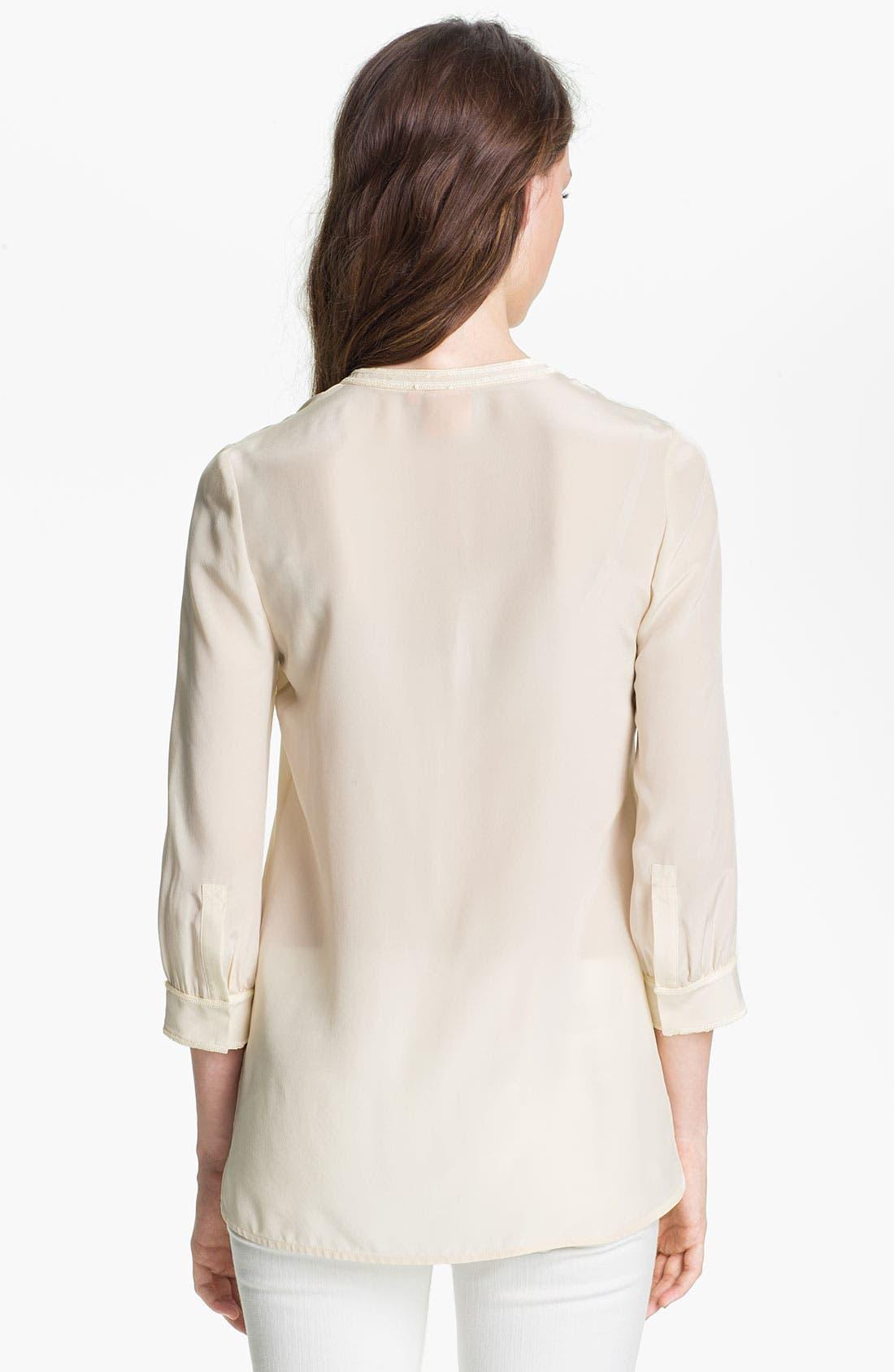 Alternate Image 2  - Tory Burch 'Petal' Silk Tunic