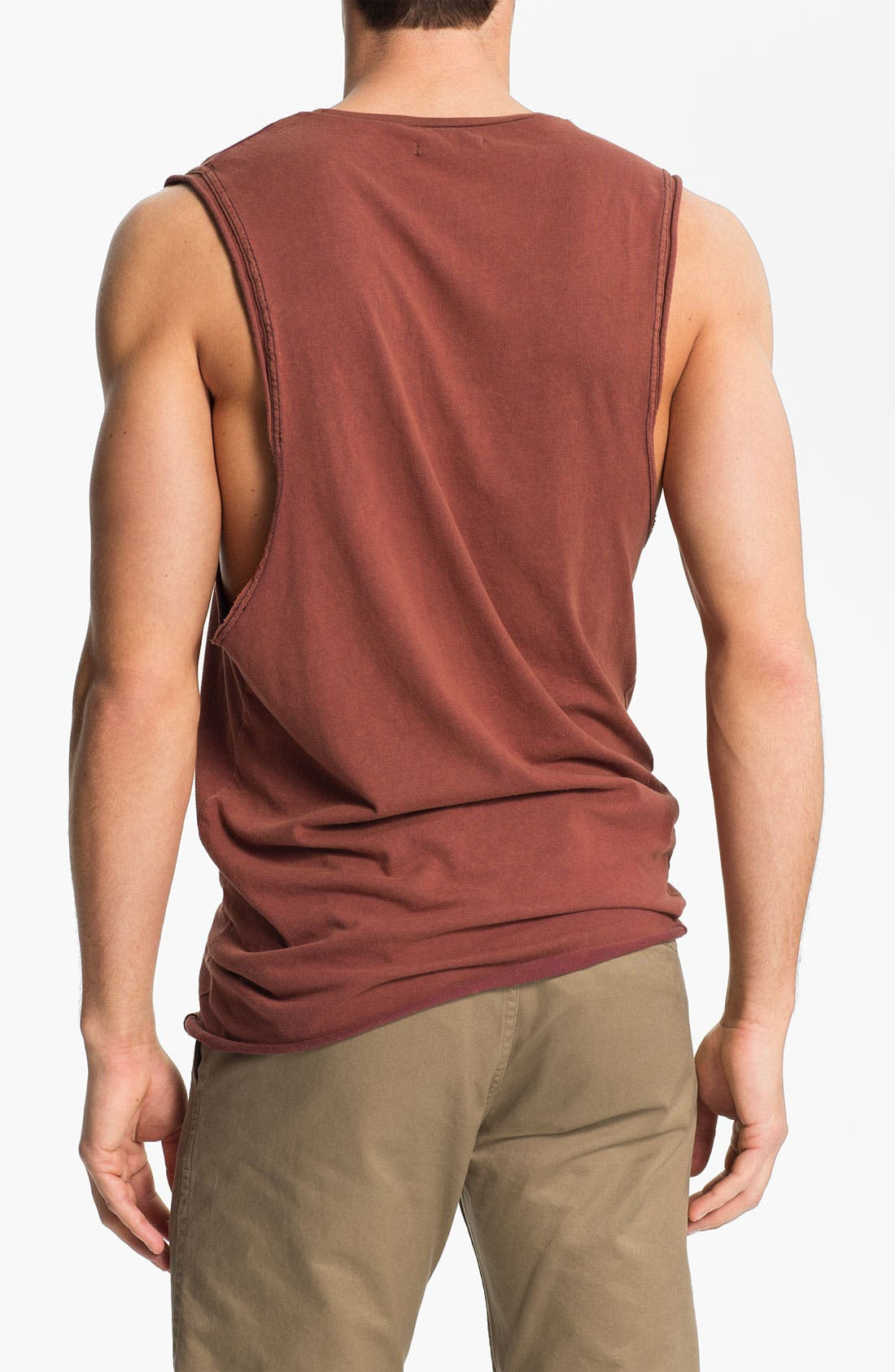 Alternate Image 2  - Zanerobe 'Z Bones' Print Muscle T-Shirt