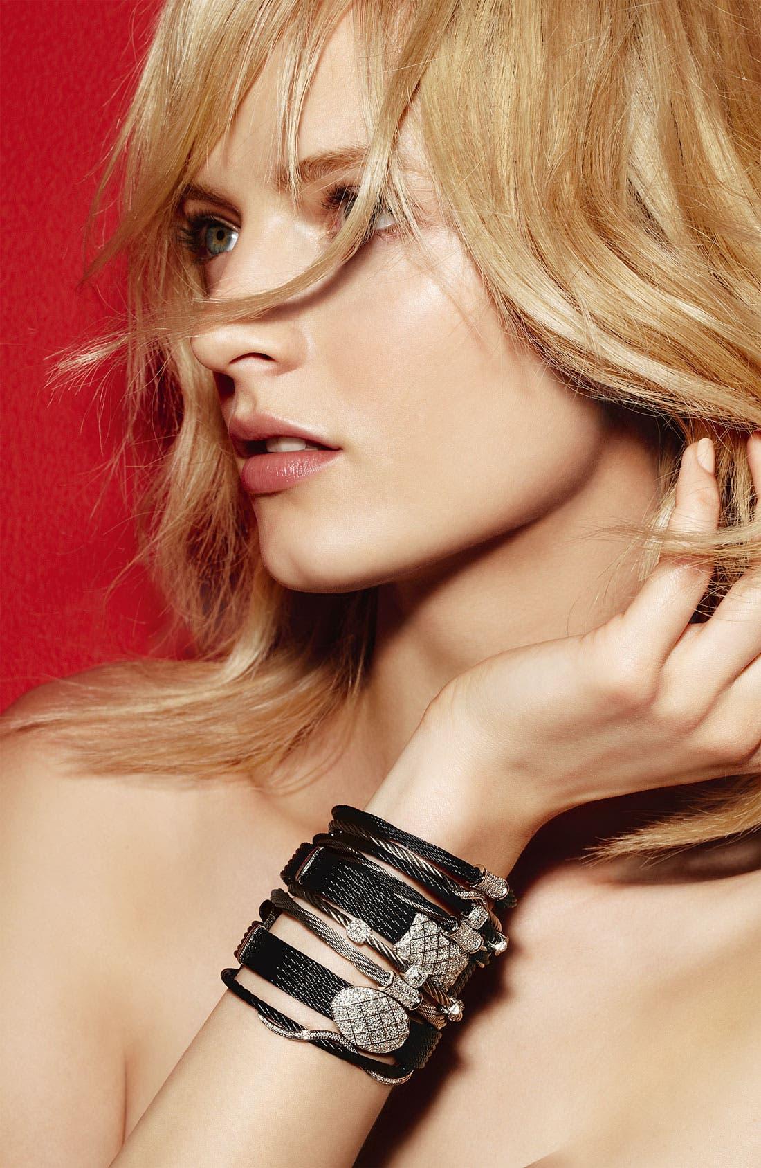Alternate Image 2  - ALOR® Diamond Pavé Station Bracelet
