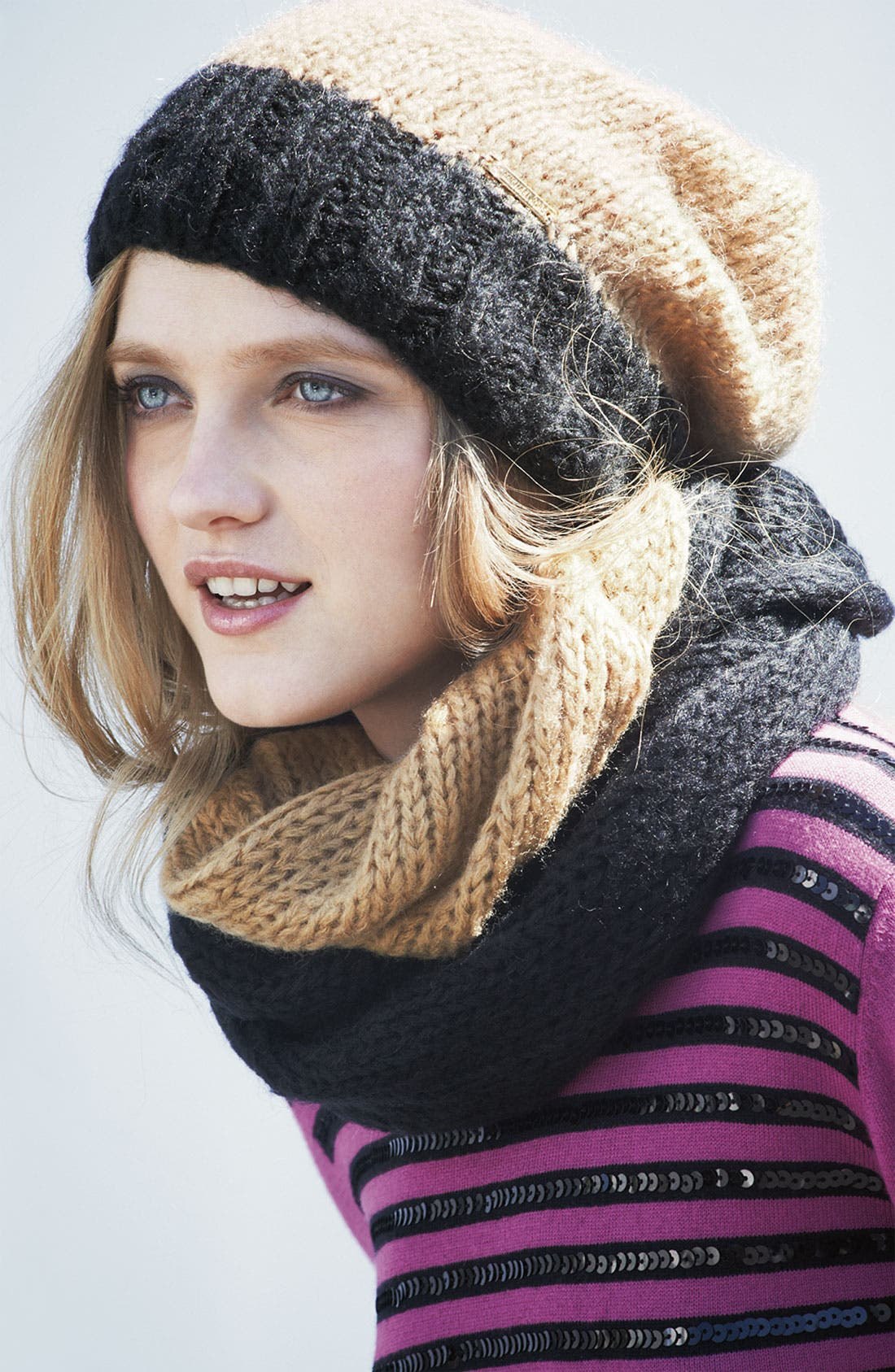 Alternate Image 3  - MICHAEL Michael Kors Two Tone Infinity Scarf