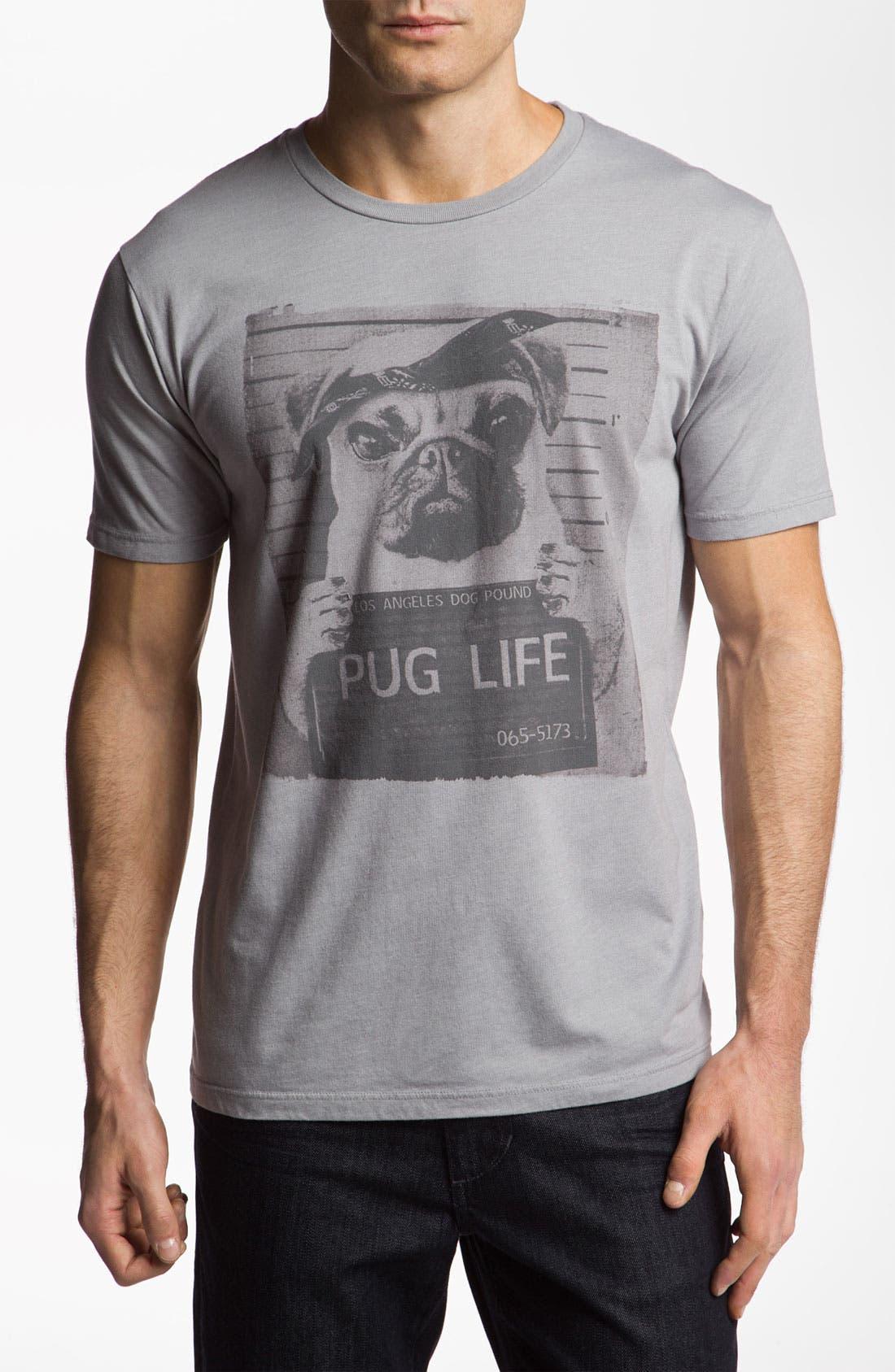 Alternate Image 1 Selected - Junk Food 'Pug Life' T-Shirt