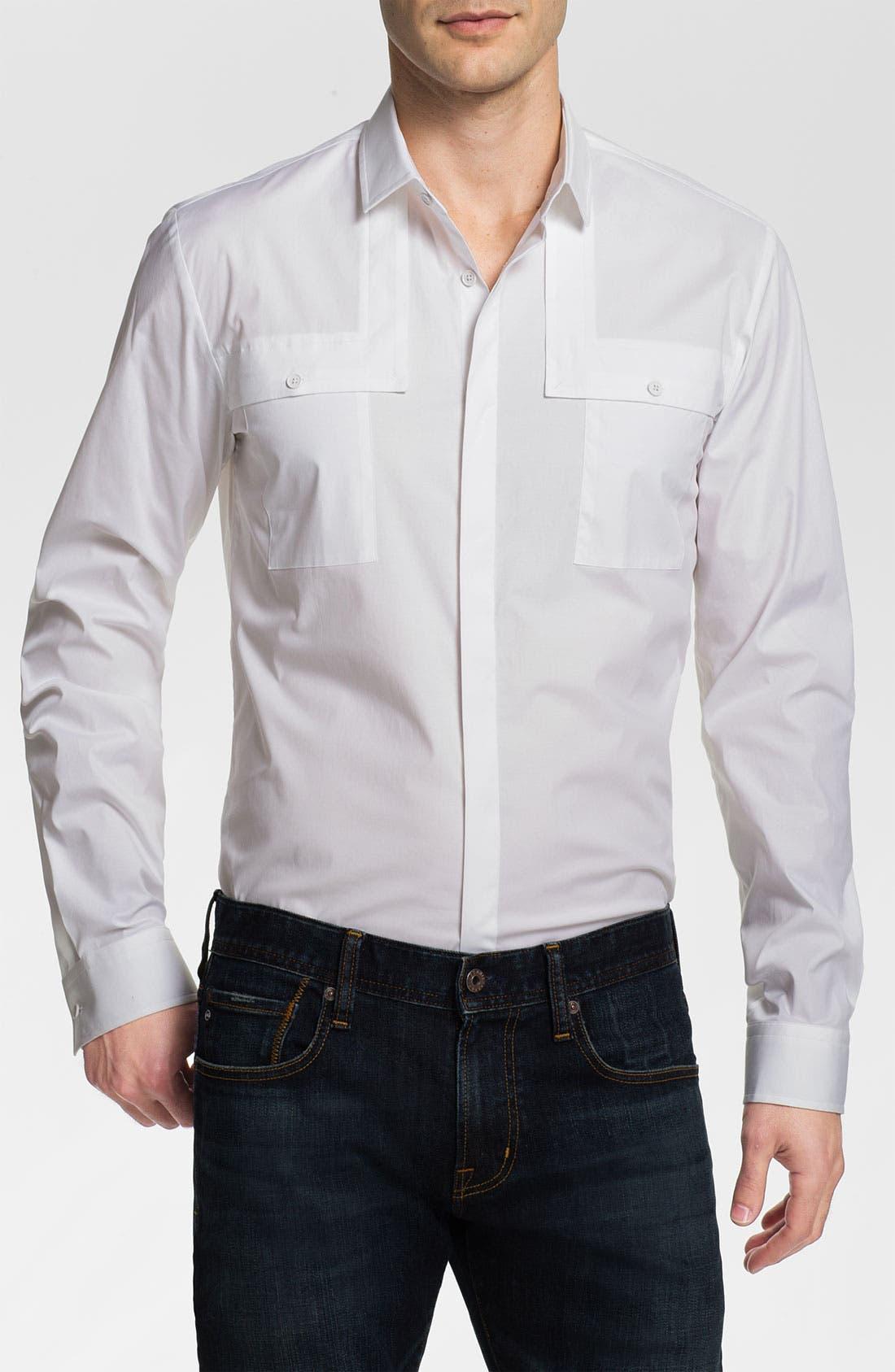 Main Image - HUGO 'Eleo' Slim Fit Sport Shirt