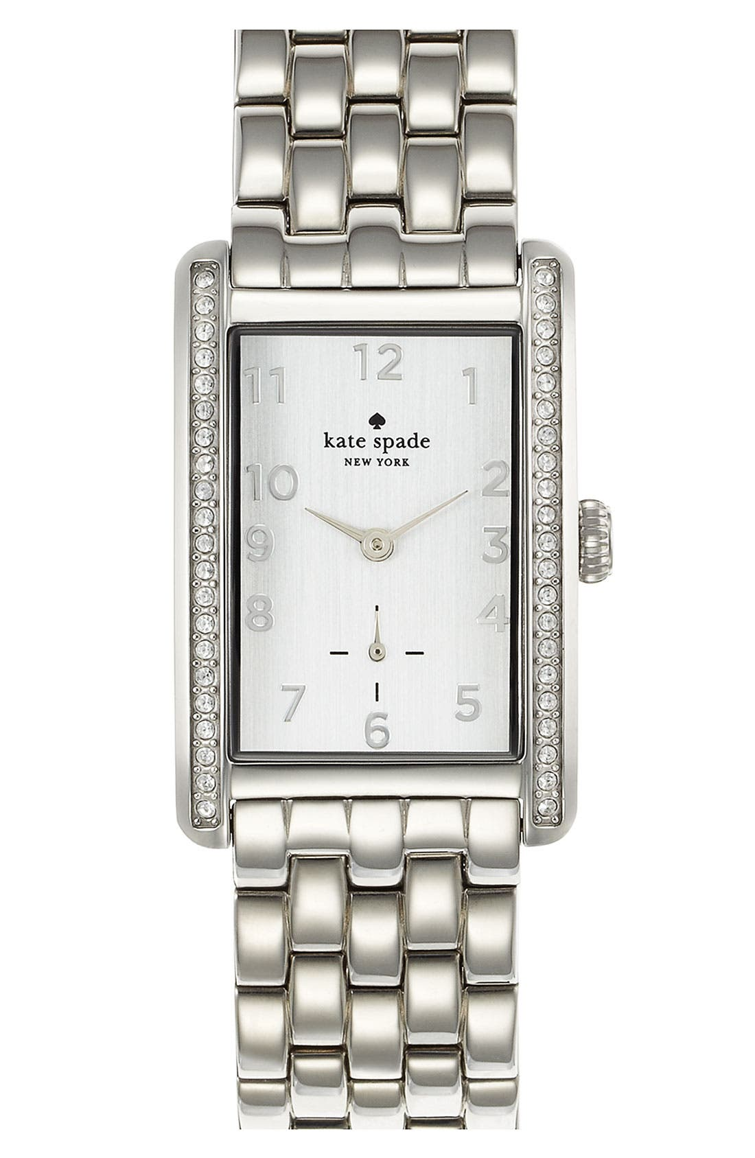 Alternate Image 1 Selected - kate spade new york 'cooper grand' bracelet watch