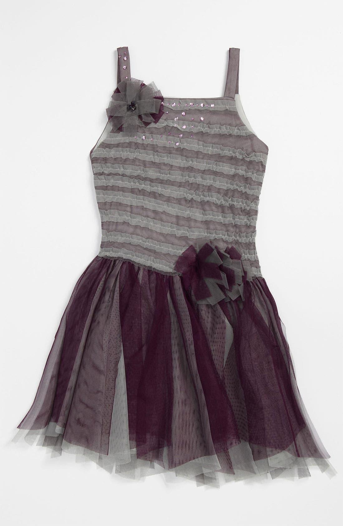 Alternate Image 1 Selected - Isobella & Chloe 'Plum Kiss' Dress (Little Girls & Big Girls)