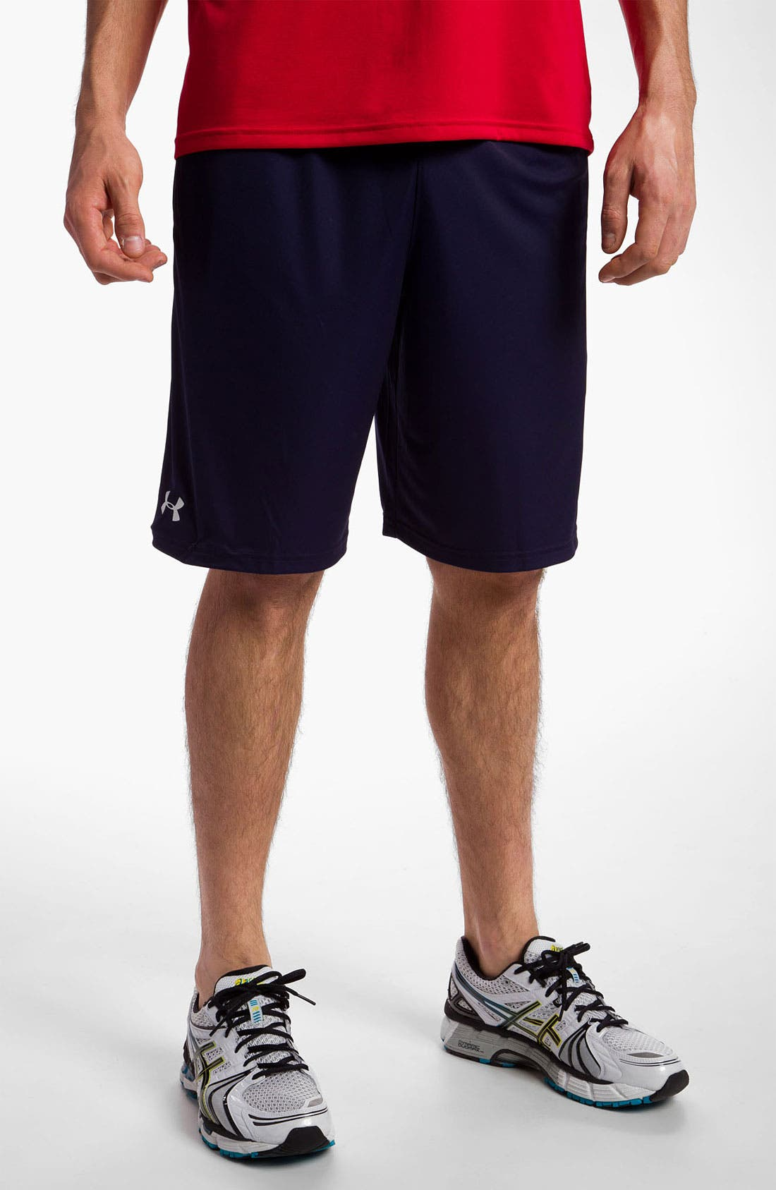 Main Image - Under Armour 'Micro' HeatGear™ Knit Shorts