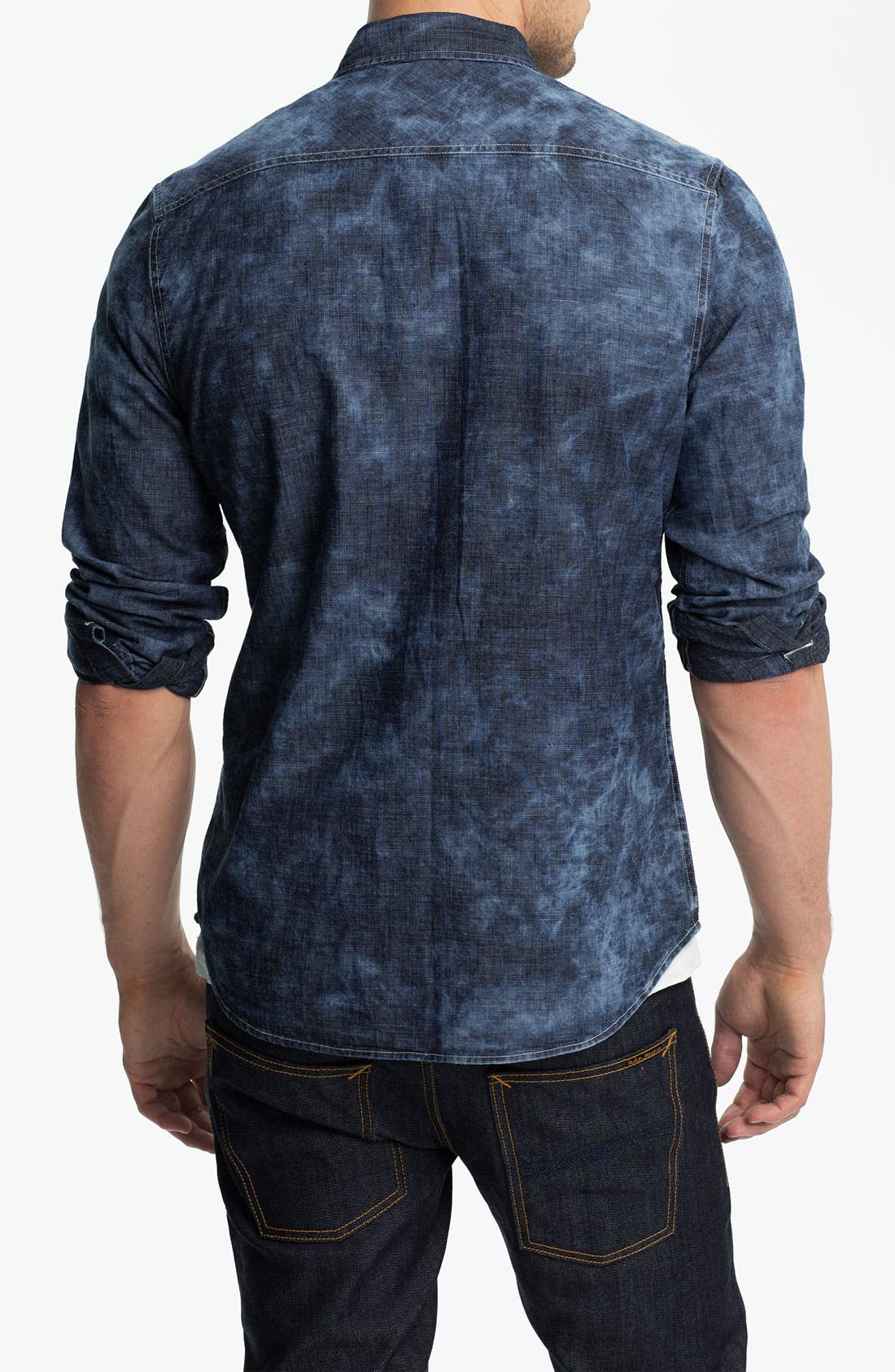 Alternate Image 2  - True Religion Brand Jeans Workwear Denim Shirt