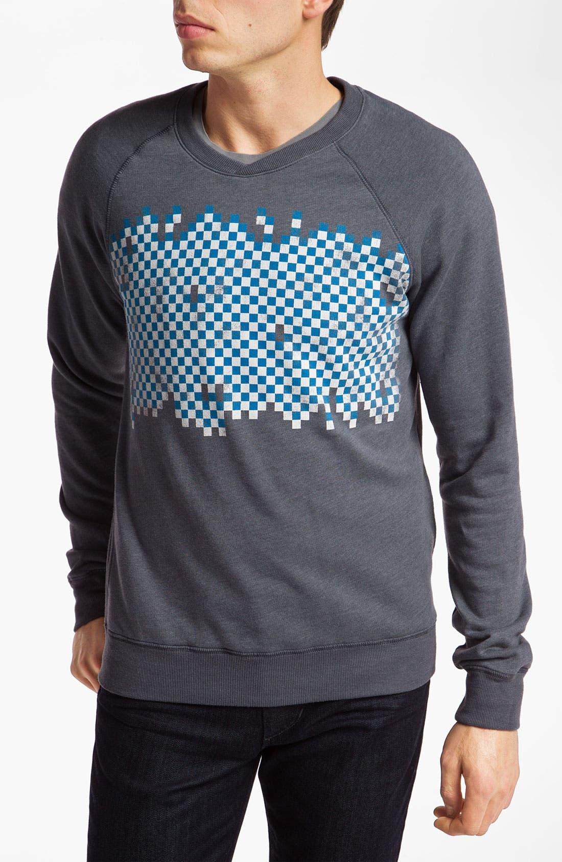 Alternate Image 1 Selected - Topo Ranch 'Check' Crewneck Sweatshirt