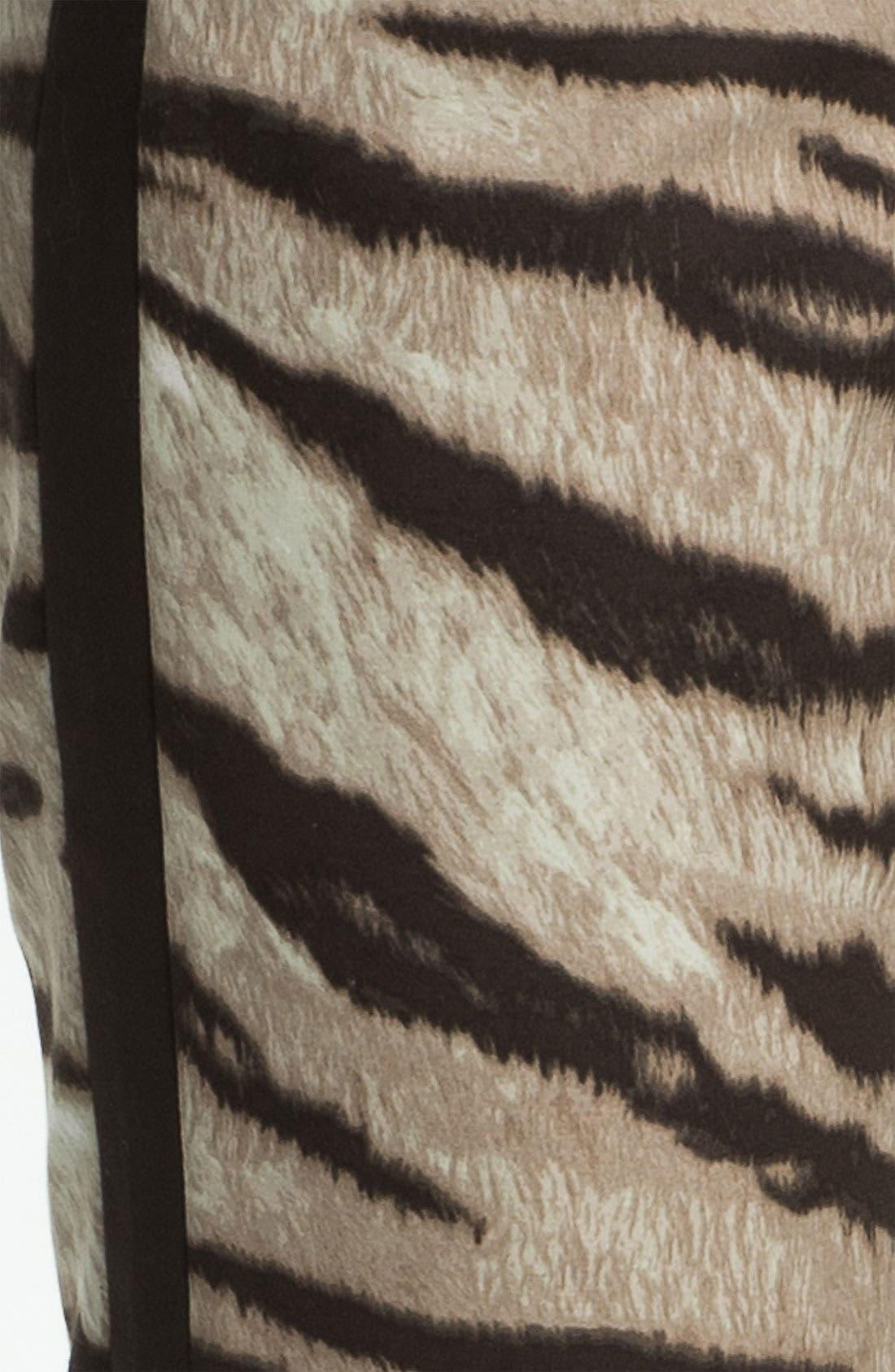 Alternate Image 3  - MICHAEL Michael Kors Tiger Print Ankle Pants