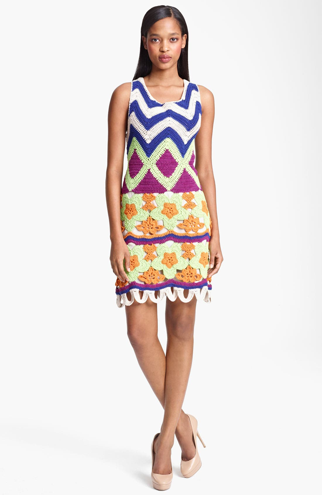 Main Image - Moschino Cheap & Chic Crochet Dress