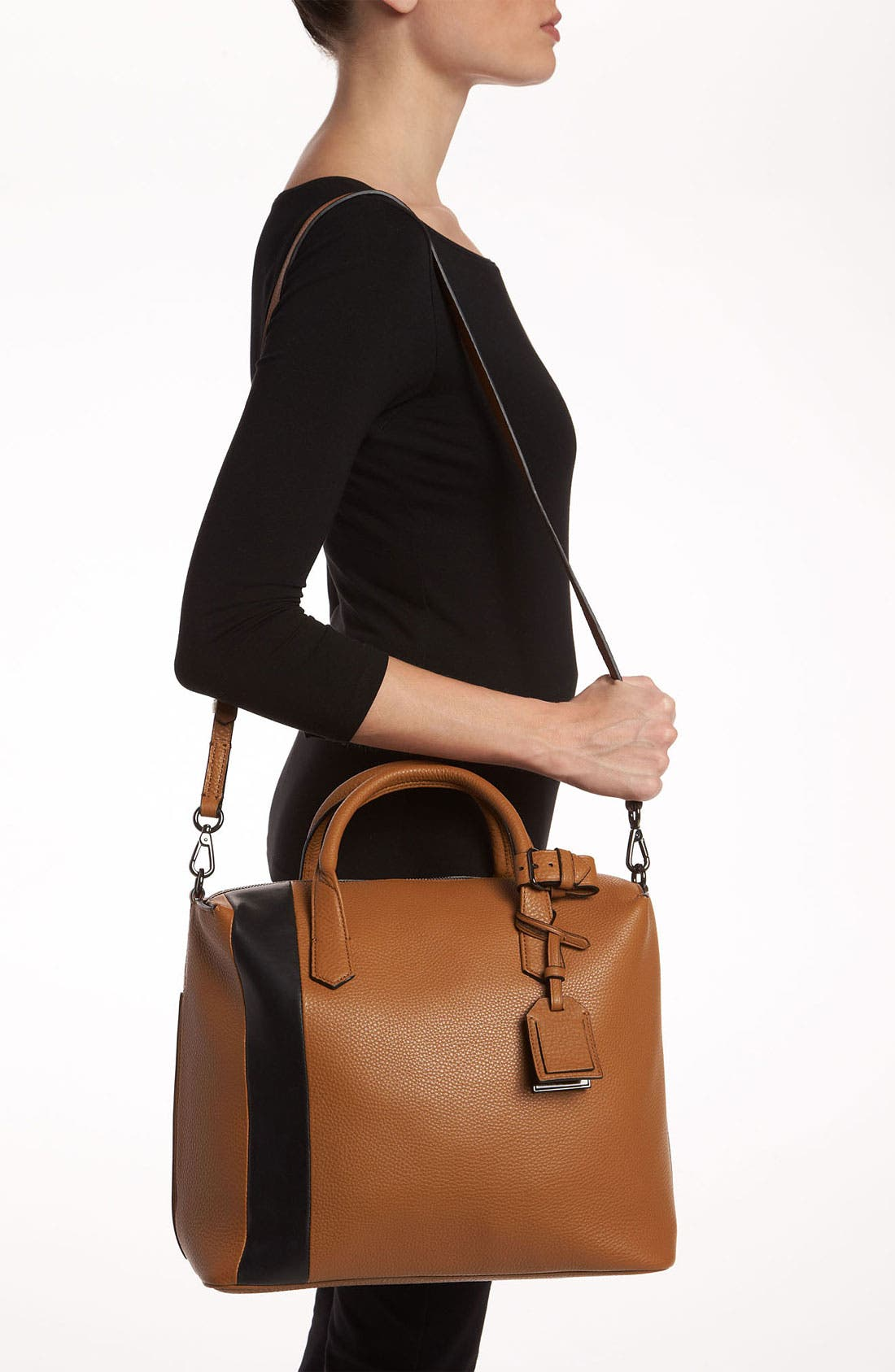Alternate Image 2  - Reed Krakoff 'Gym Bag I' Leather Satchel