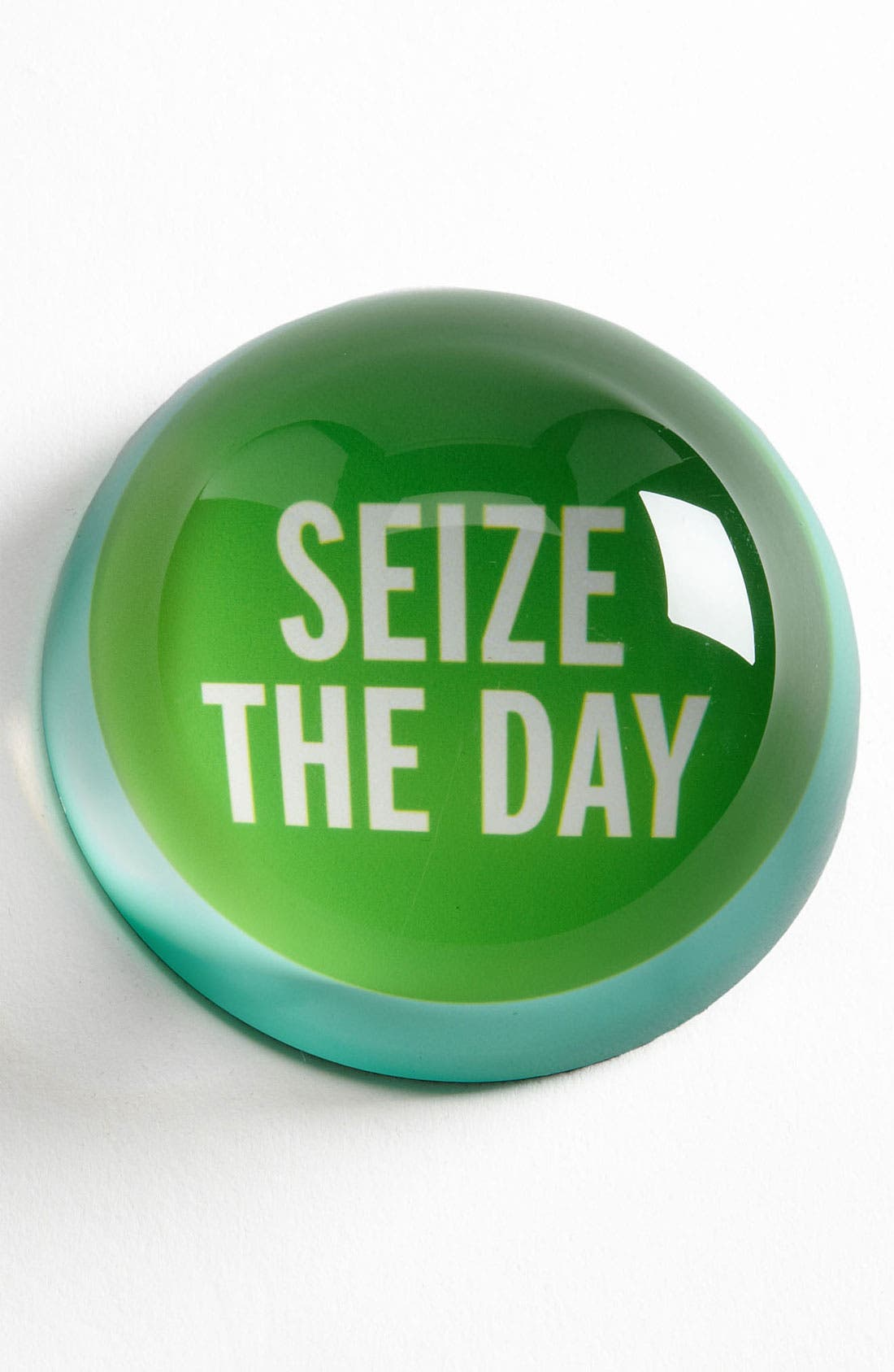 Alternate Image 1 Selected - kate spade new york 'say the word - seize the day' paperweight