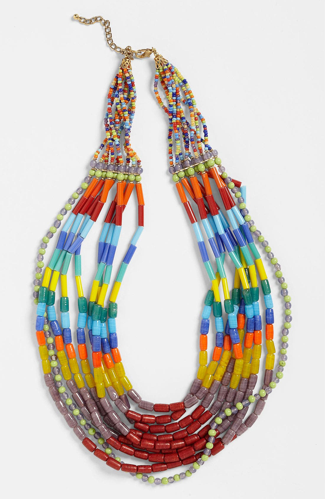 Alternate Image 1 Selected - Spring Street Design Group 'Frida' Beaded Necklace