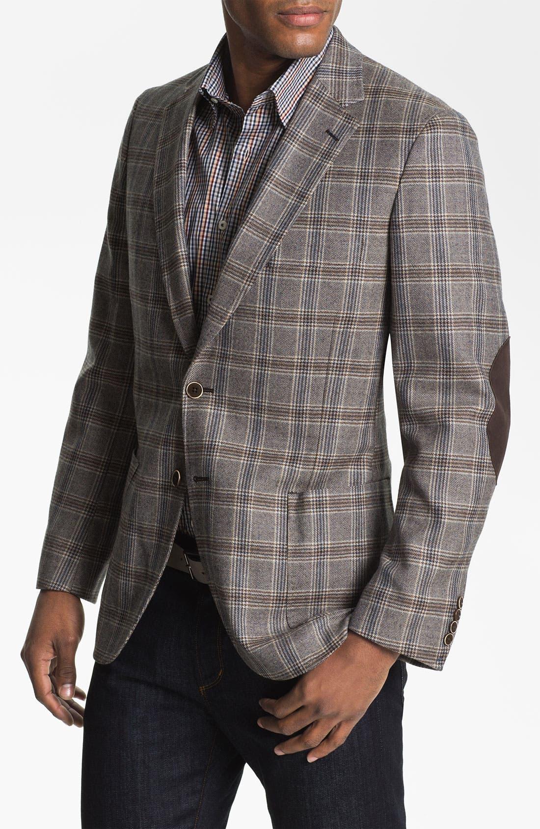 Main Image - Peter Millar Wool Sportcoat
