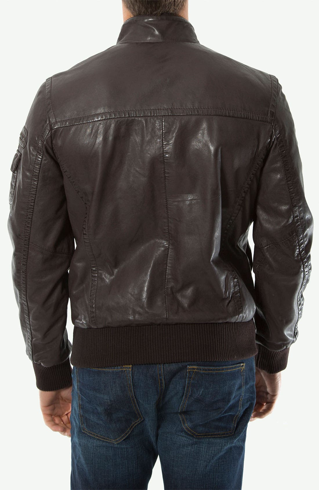 Alternate Image 2  - 7 Diamonds 'Detroit' Leather Jacket