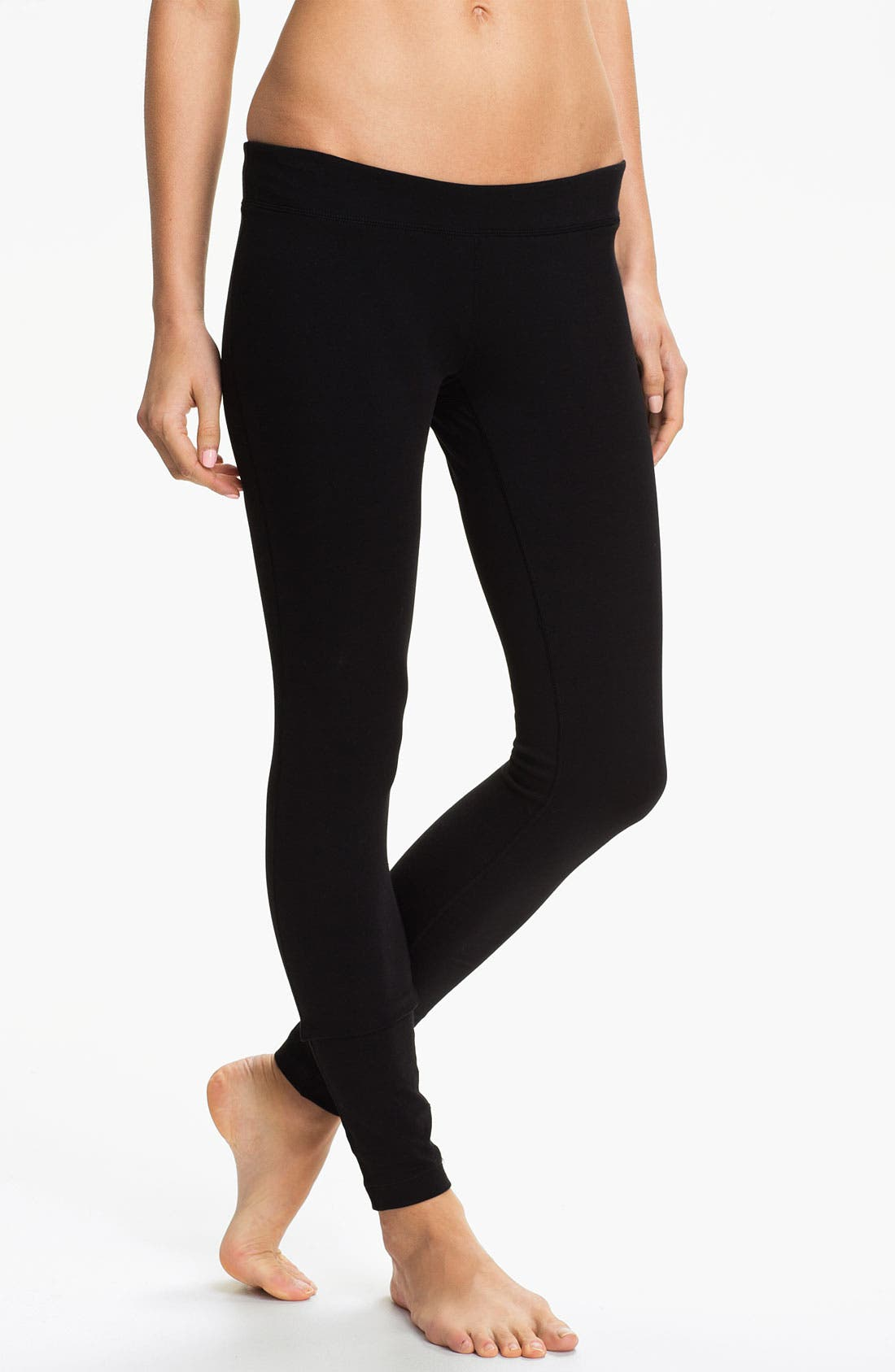 Alternate Image 1 Selected - Unit-Y Stretch Cotton Leggings