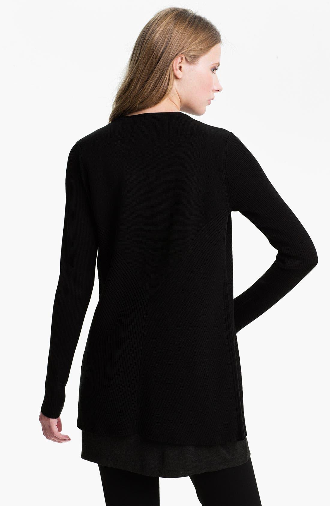 Alternate Image 2  - Eileen Fisher Silk & Cotton Cardigan