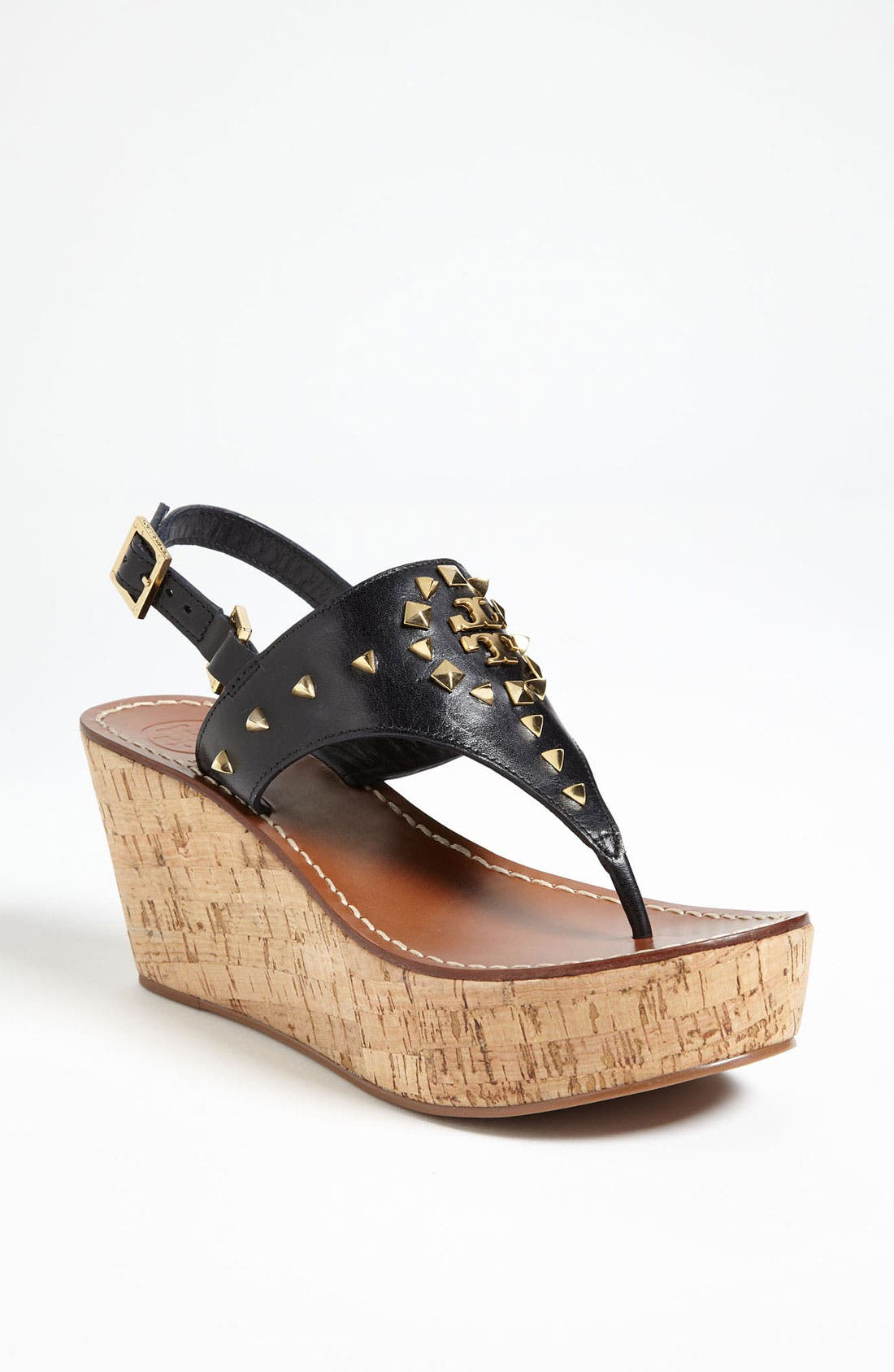 Alternate Image 1 Selected - Tory Burch 'Dale' Wedge Thong