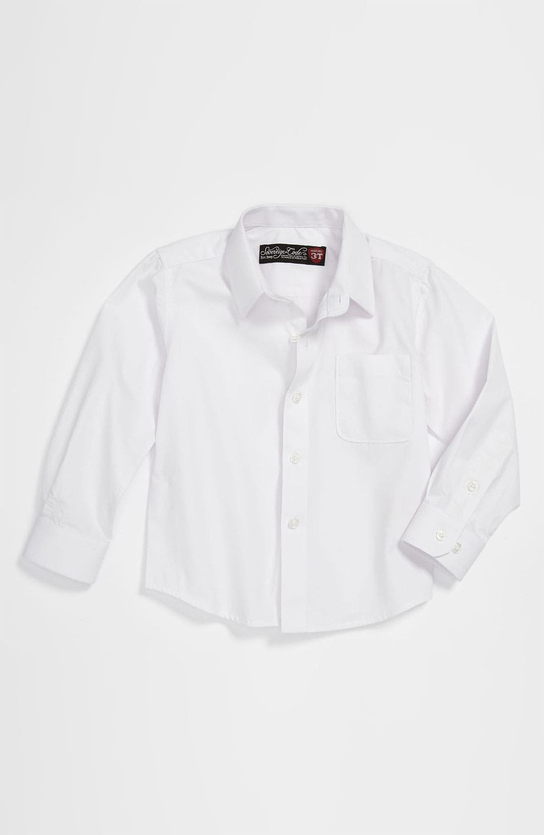Main Image - Sovereign Code Woven Dress Shirt (Toddler)