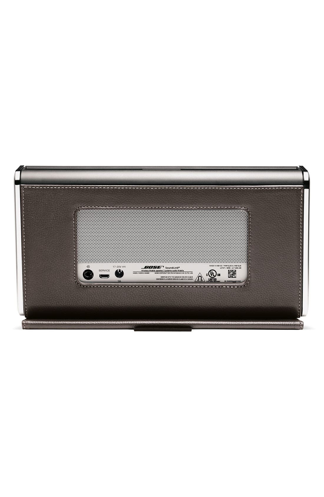 Alternate Image 2  - Bose® SoundLink® Bluetooth® Mobile Speaker II – Leather Edition