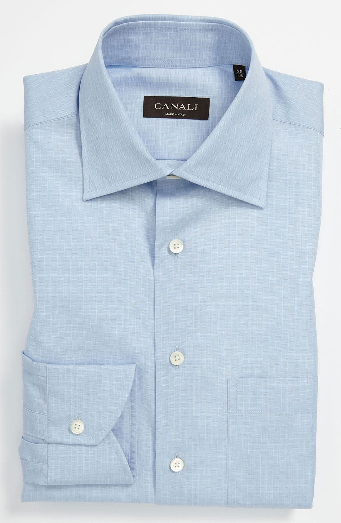 Alternate Image 1 Selected - Canali Modern Fit Dress Shirt