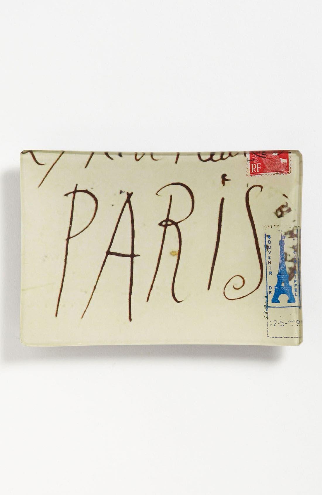 Alternate Image 1 Selected - Ben's Garden 'Picasso Paris Script' Trinket Tray