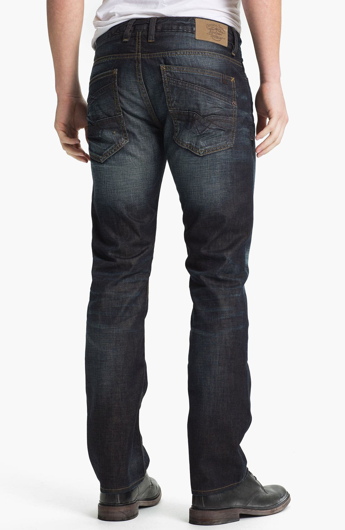 Alternate Image 2  - Buffalo Jeans 'Six' Slim Straight Leg Jeans (Veined/Dirty) (Online Exclusive)