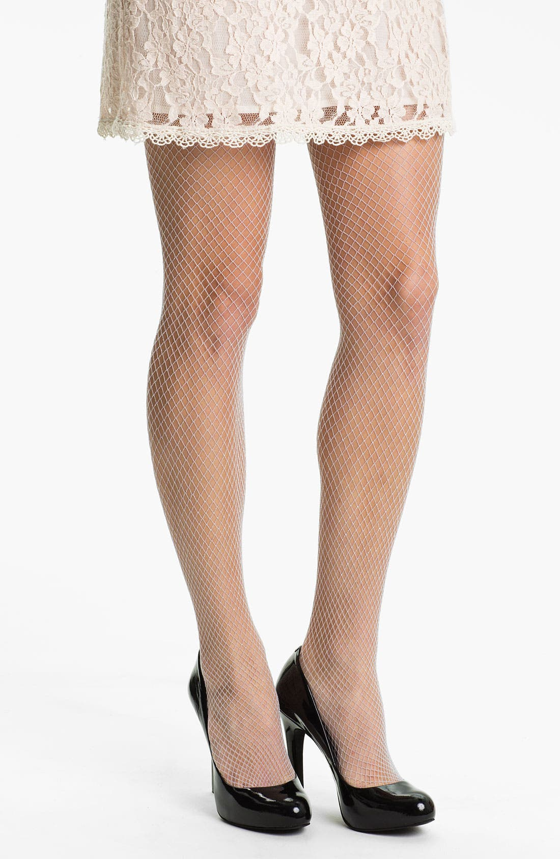 Alternate Image 1 Selected - Nordstrom 'Shine' Fishnet Tights