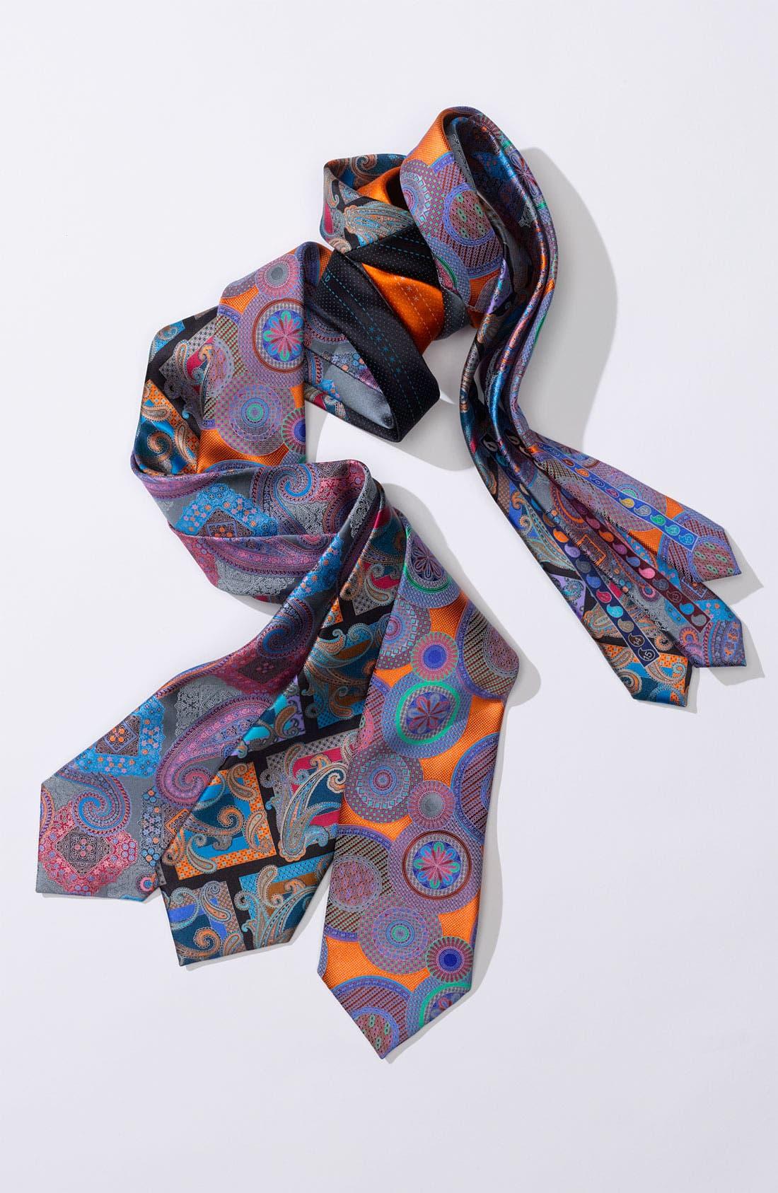 Alternate Image 3  - Ermenegildo Zegna 'Quindici' Print Silk Tie